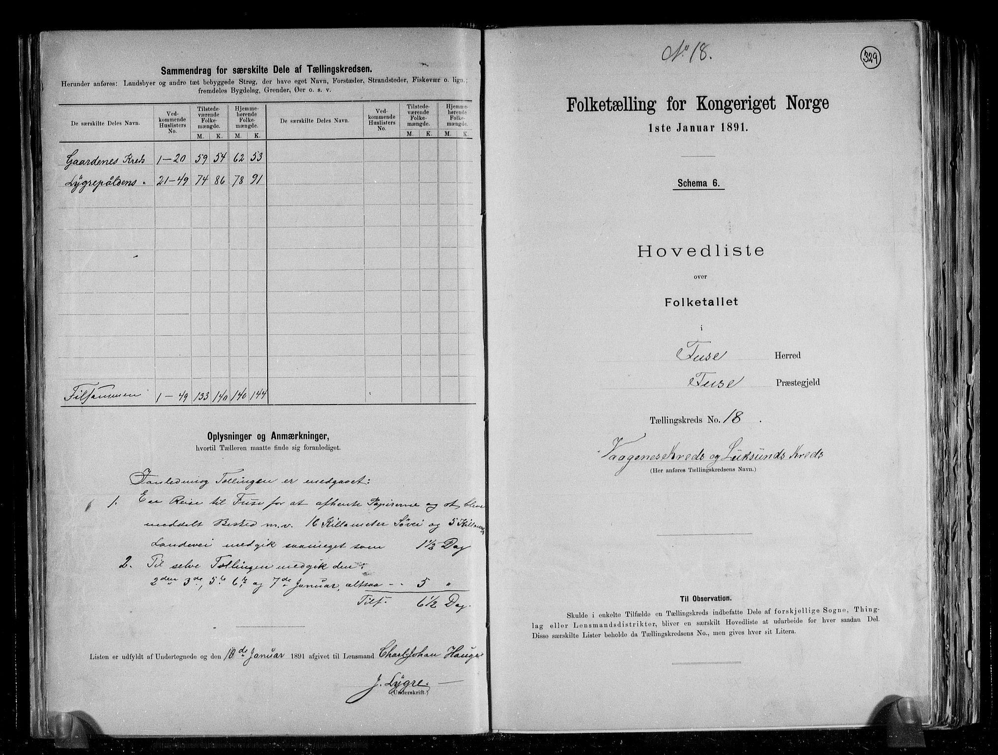 RA, Folketelling 1891 for 1241 Fusa herred, 1891, s. 38