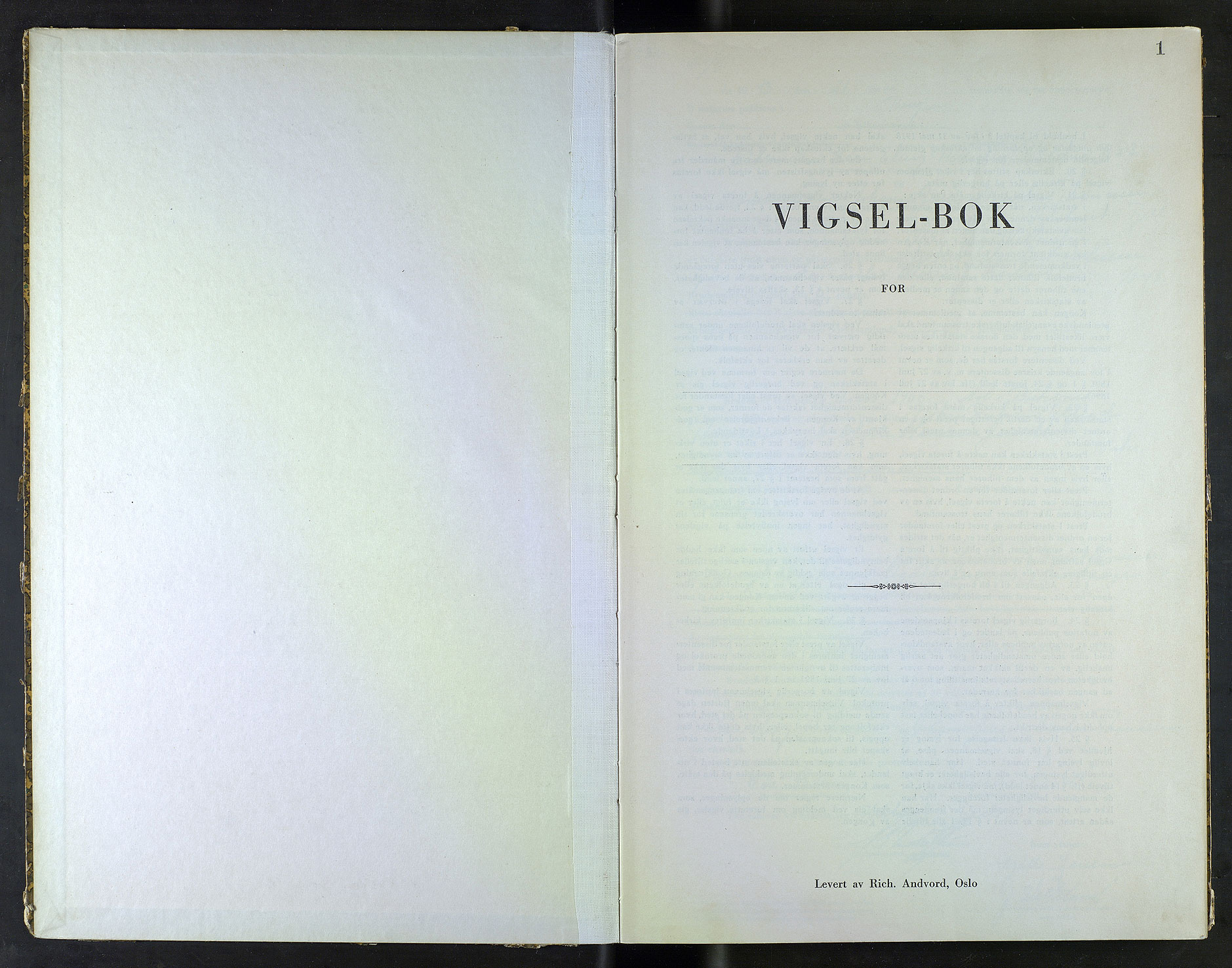 SAB, Bergen byfogd og byskriver*, 1943, s. 1