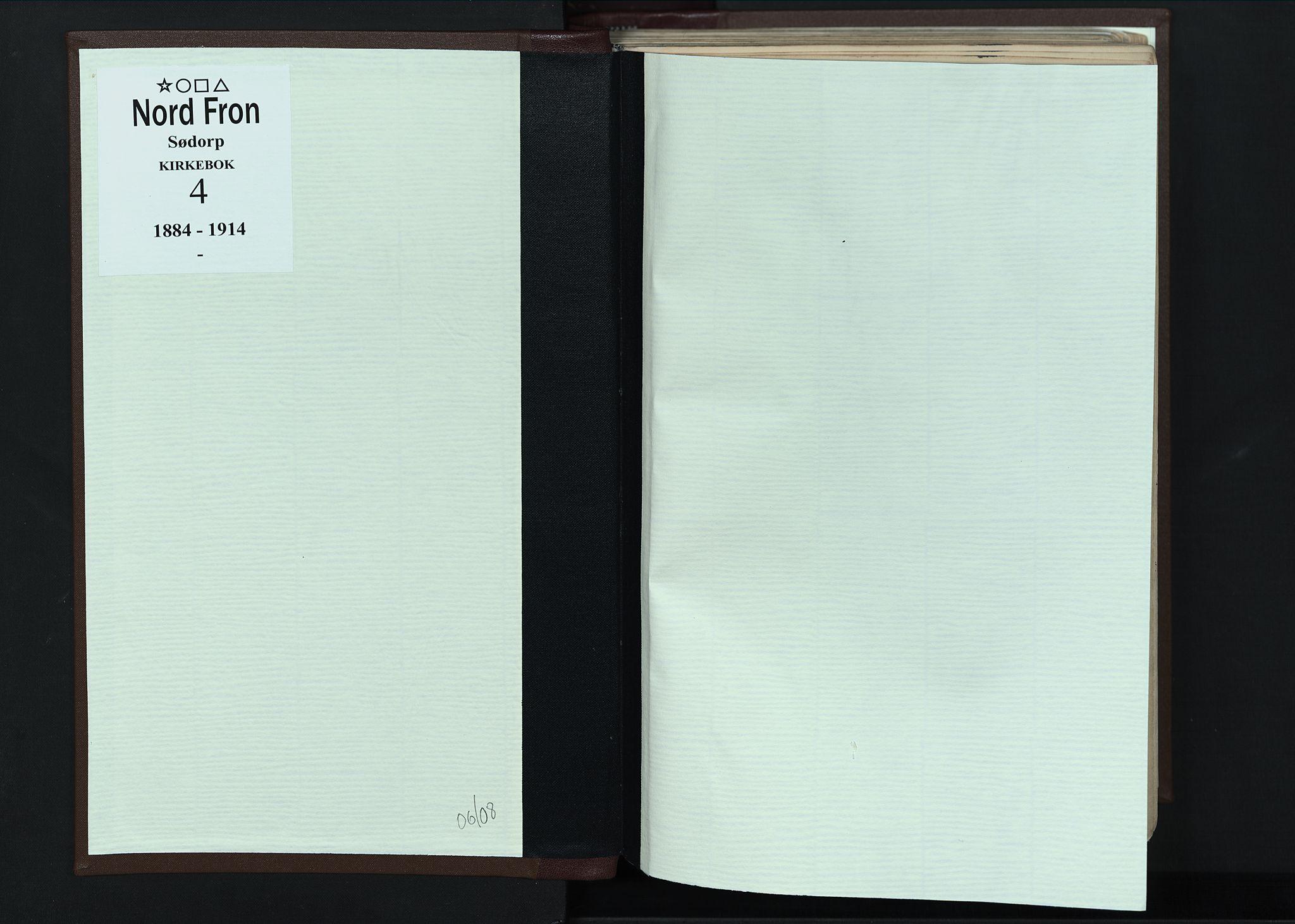 SAH, Nord-Fron prestekontor, Ministerialbok nr. 4, 1884-1914