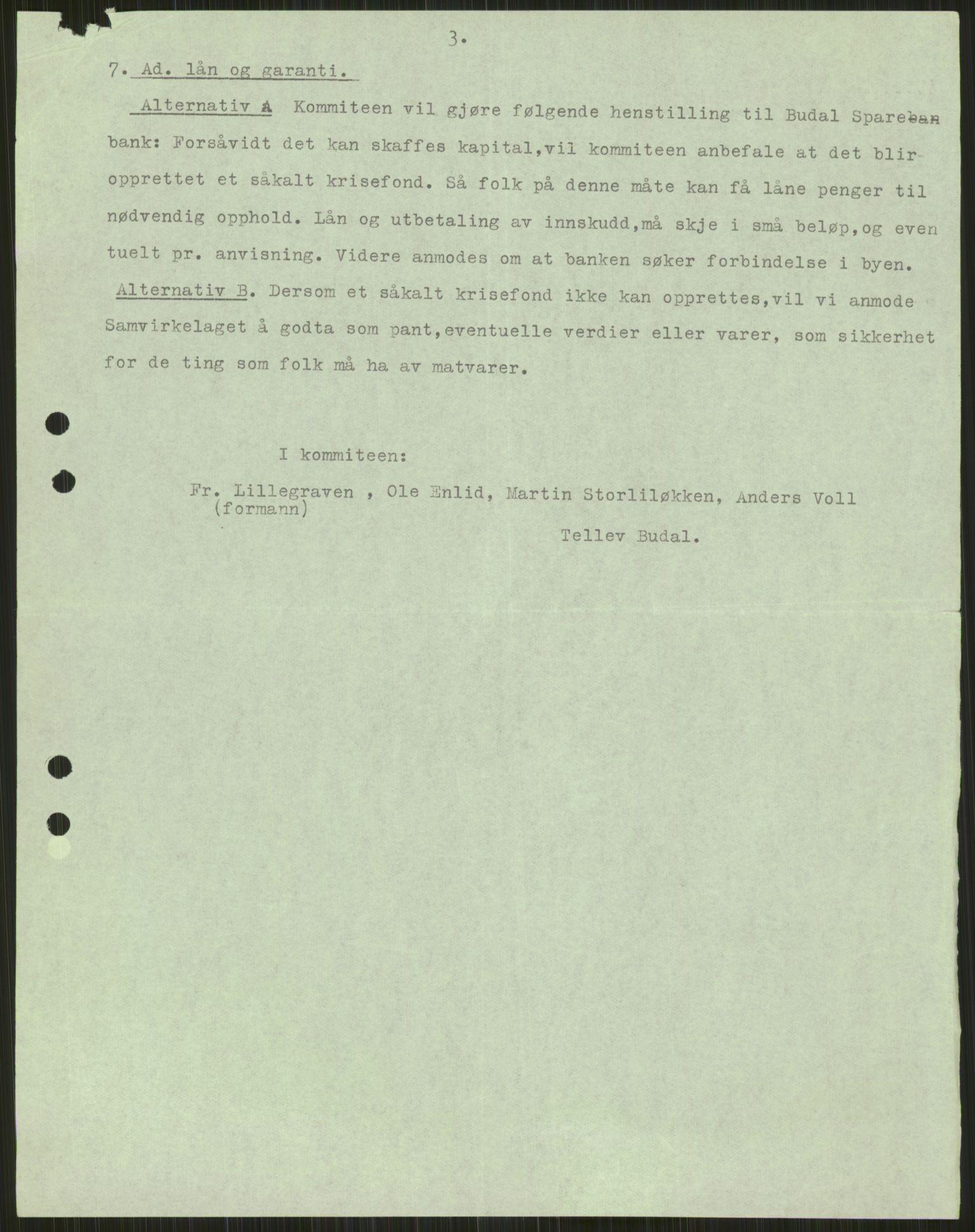 RA, Forsvaret, Forsvarets krigshistoriske avdeling, Y/Ya/L0016: II-C-11-31 - Fylkesmenn.  Rapporter om krigsbegivenhetene 1940., 1940, s. 152