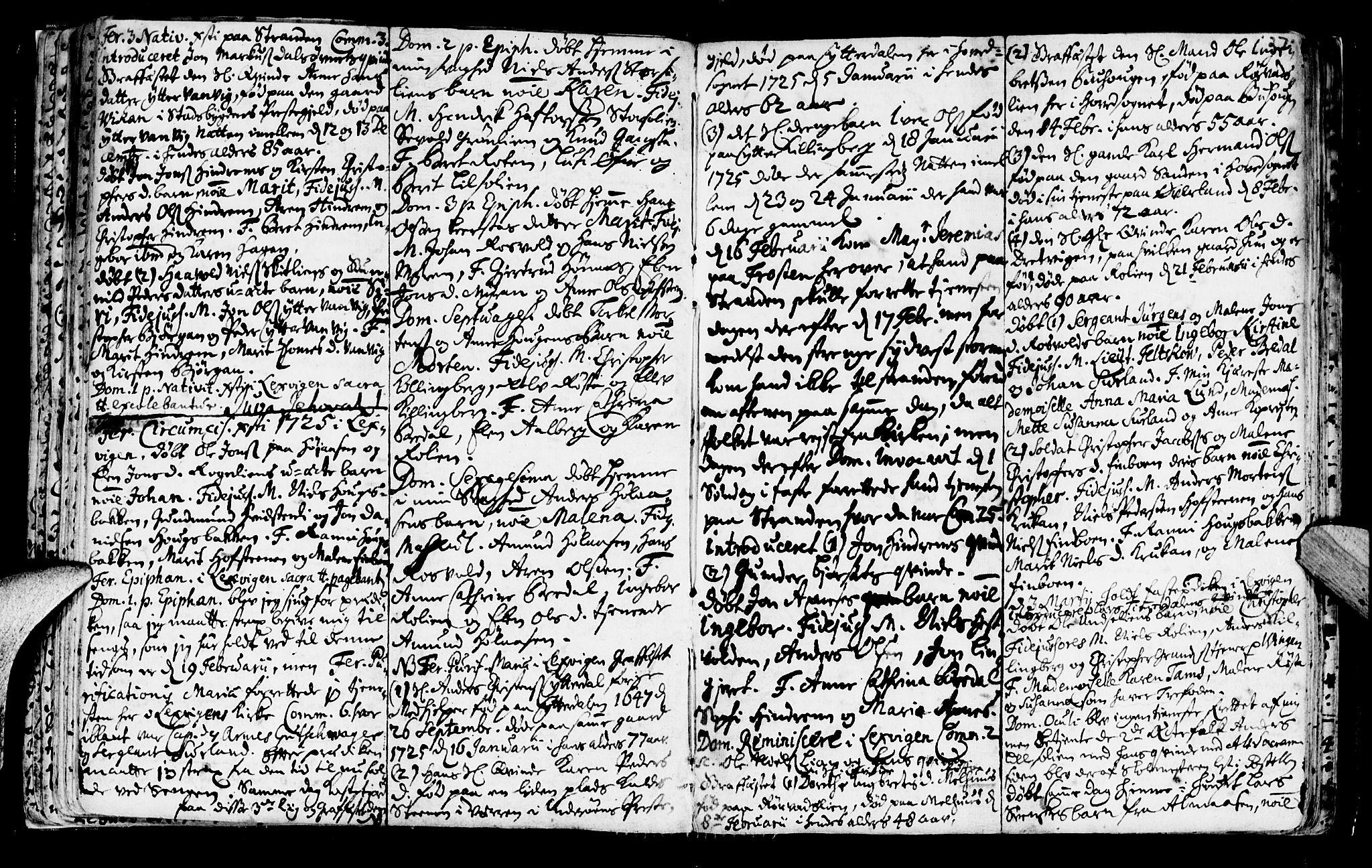 SAT, Ministerialprotokoller, klokkerbøker og fødselsregistre - Nord-Trøndelag, 701/L0001: Ministerialbok nr. 701A01, 1717-1731, s. 27
