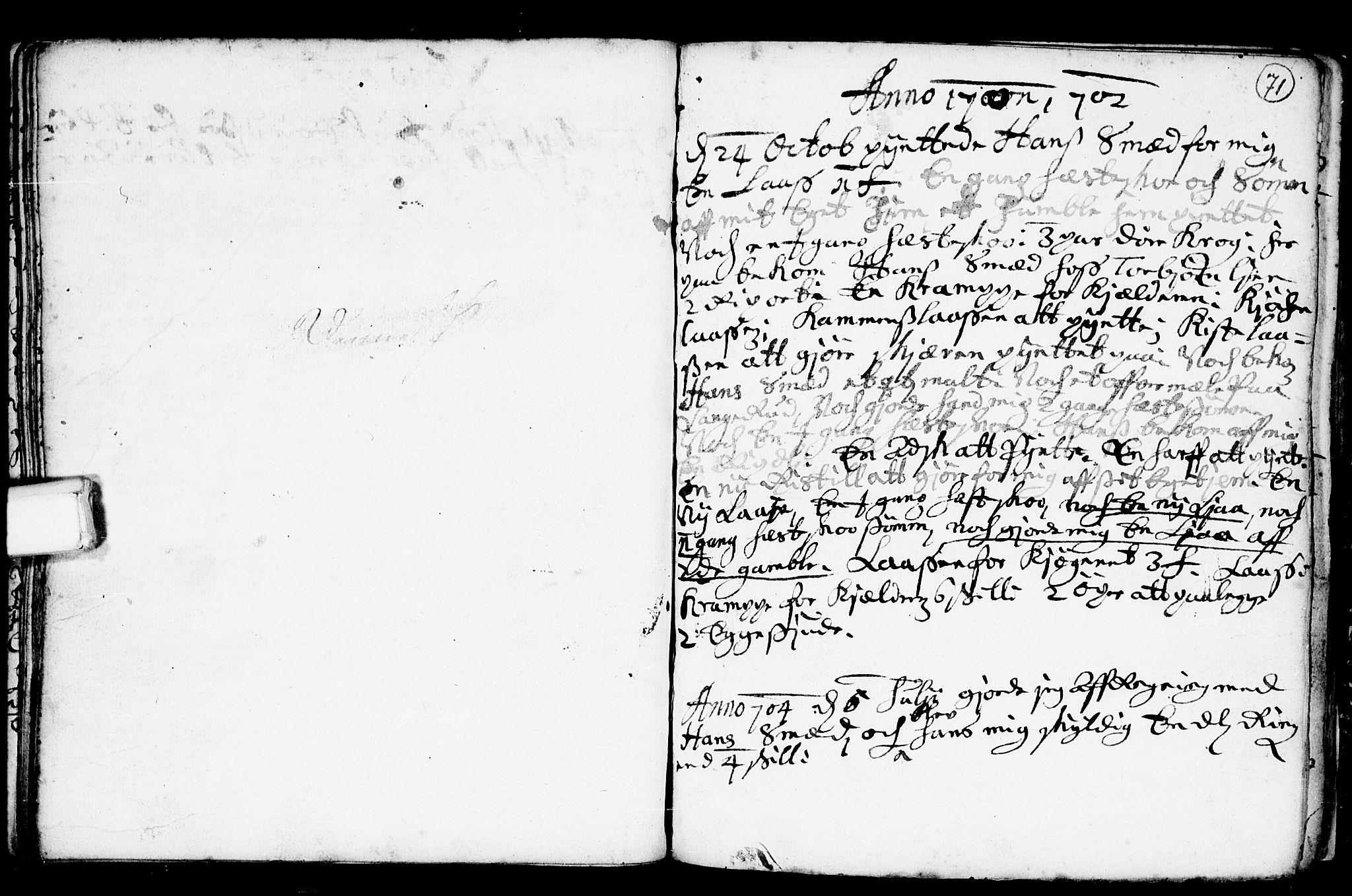 SAKO, Heddal kirkebøker, F/Fa/L0001: Ministerialbok nr. I 1, 1648-1699, s. 71