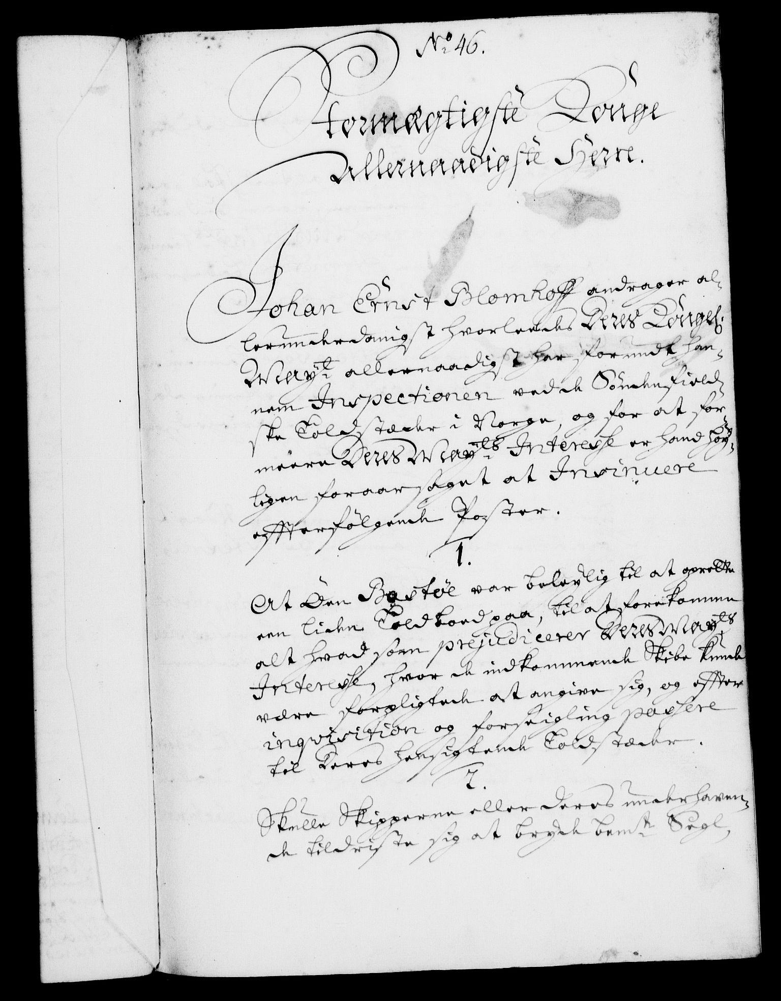 RA, Rentekammeret, Kammerkanselliet, G/Gf/Gfa/L0004: Norsk relasjons- og resolusjonsprotokoll (merket RK 52.4), 1721, s. 374
