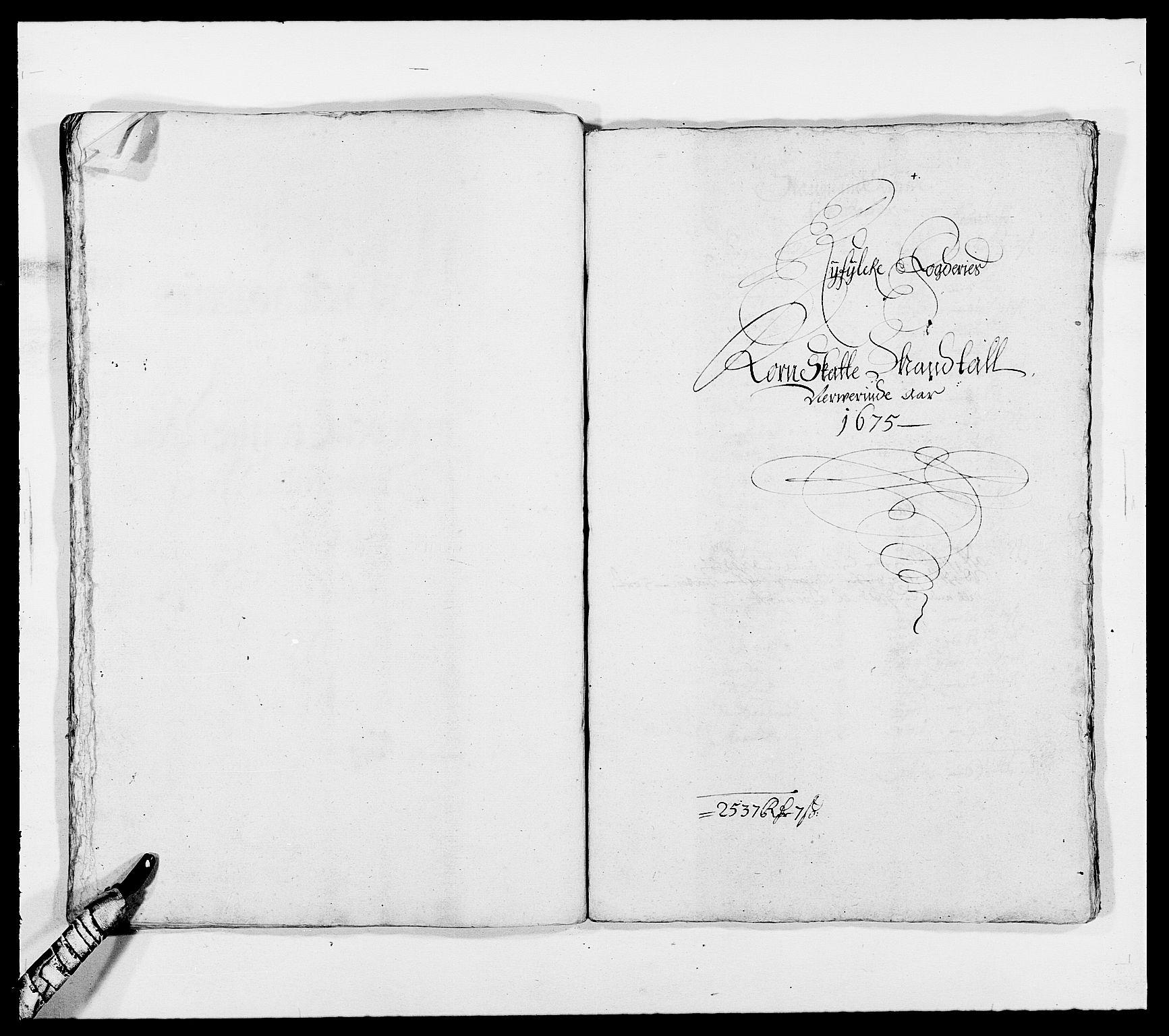 RA, Rentekammeret inntil 1814, Reviderte regnskaper, Fogderegnskap, R47/L2845: Fogderegnskap Ryfylke, 1674-1675, s. 257