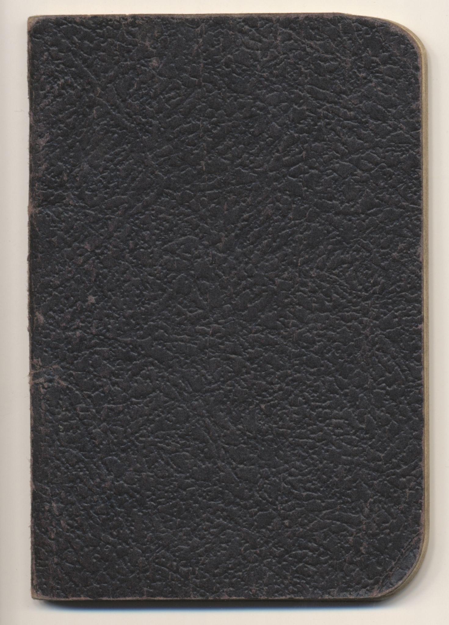 FSM, Falstadsenteret, dokumentsamling, F/L0373: Berg, Erling (1916), 1930-1945, s. 1