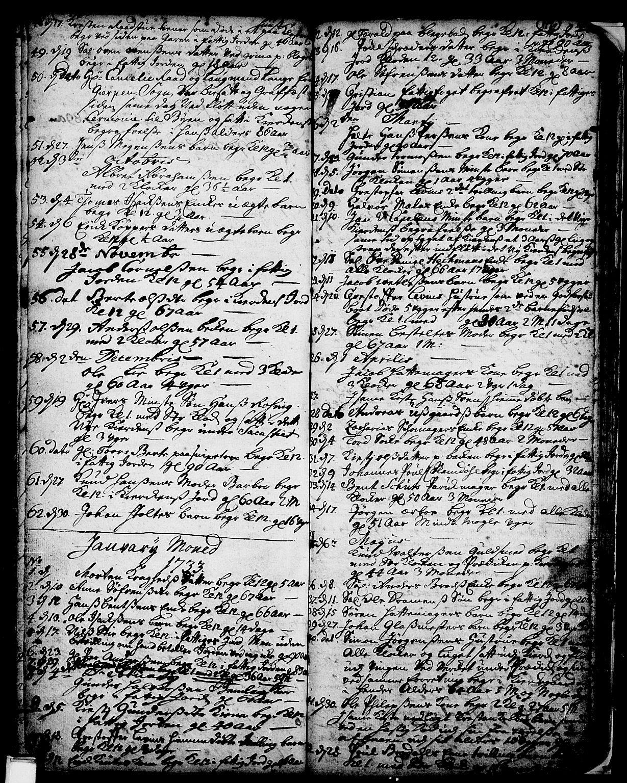 SAKO, Skien kirkebøker, F/Fa/L0002: Ministerialbok nr. 2, 1716-1757, s. 199