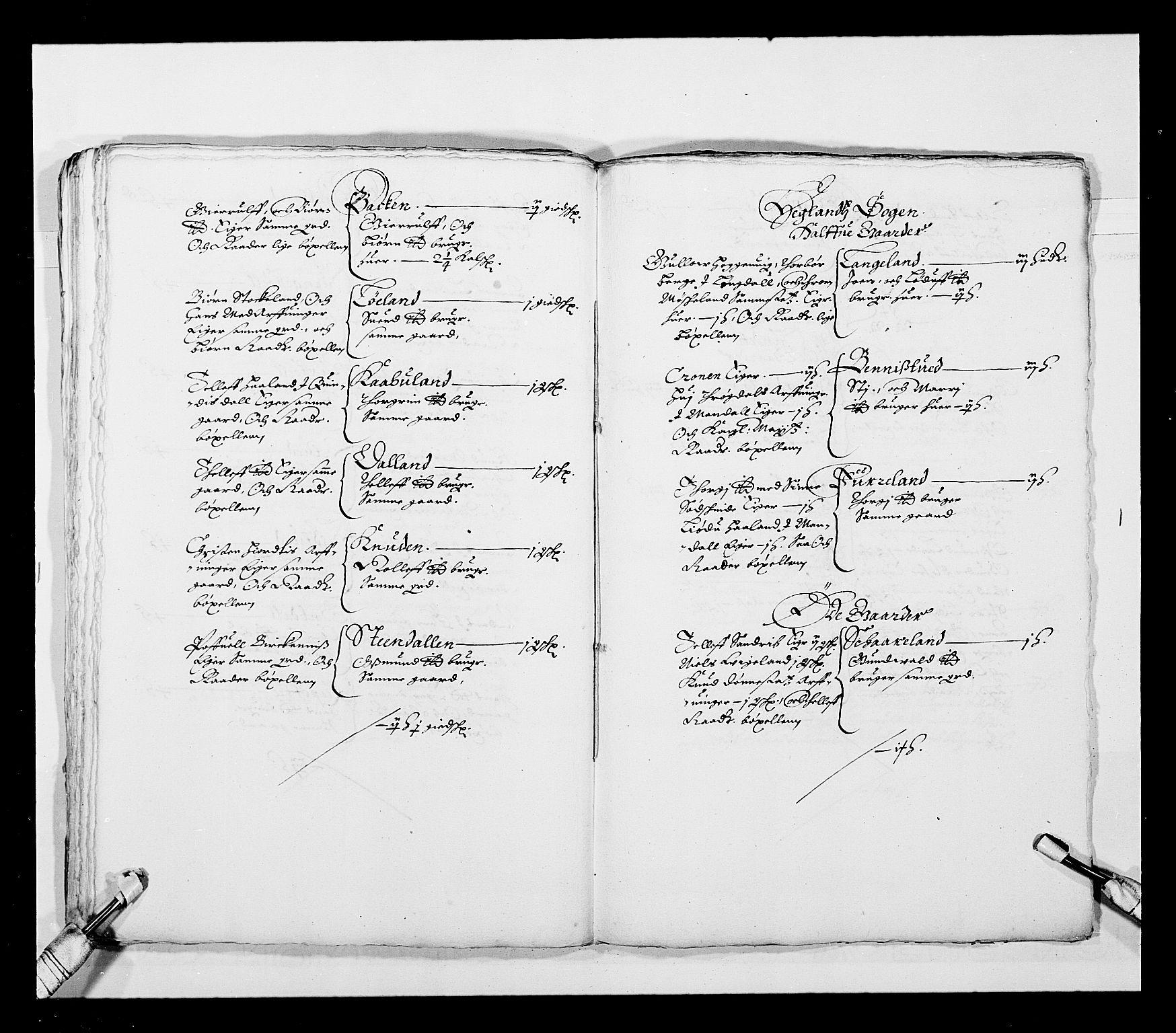 RA, Stattholderembetet 1572-1771, Ek/L0023: Jordebøker 1633-1658:, 1648-1649, s. 42
