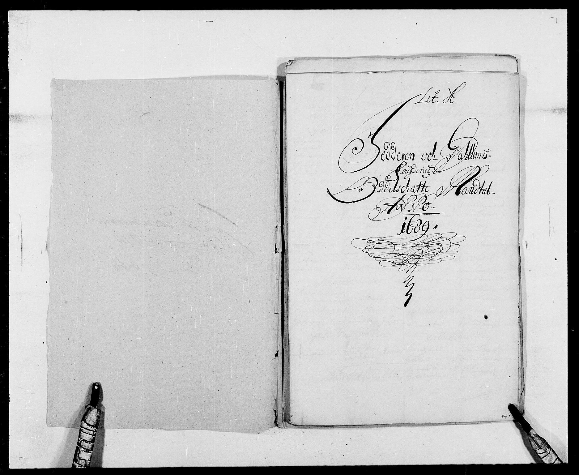 RA, Rentekammeret inntil 1814, Reviderte regnskaper, Fogderegnskap, R46/L2726: Fogderegnskap Jæren og Dalane, 1686-1689, s. 327