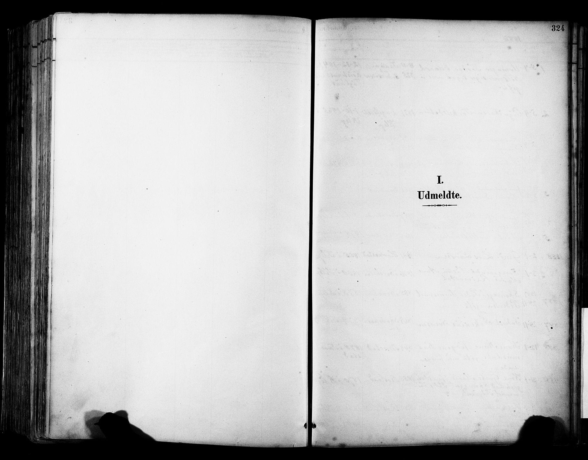 SAST, Klepp sokneprestkontor, 30BA/L0009: Ministerialbok nr. A 7, 1886-1915, s. 324