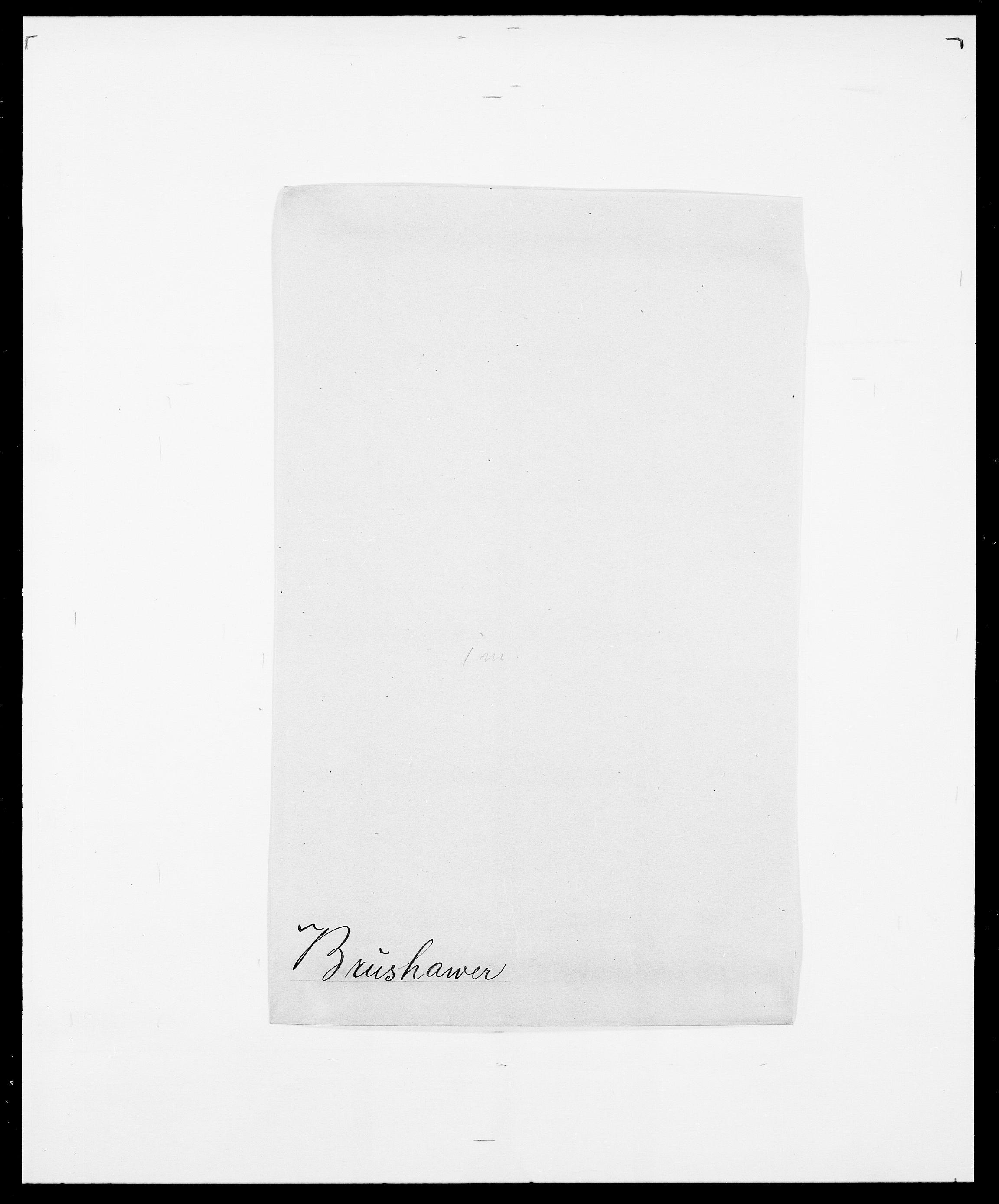 SAO, Delgobe, Charles Antoine - samling, D/Da/L0006: Brambani - Brønø, s. 849
