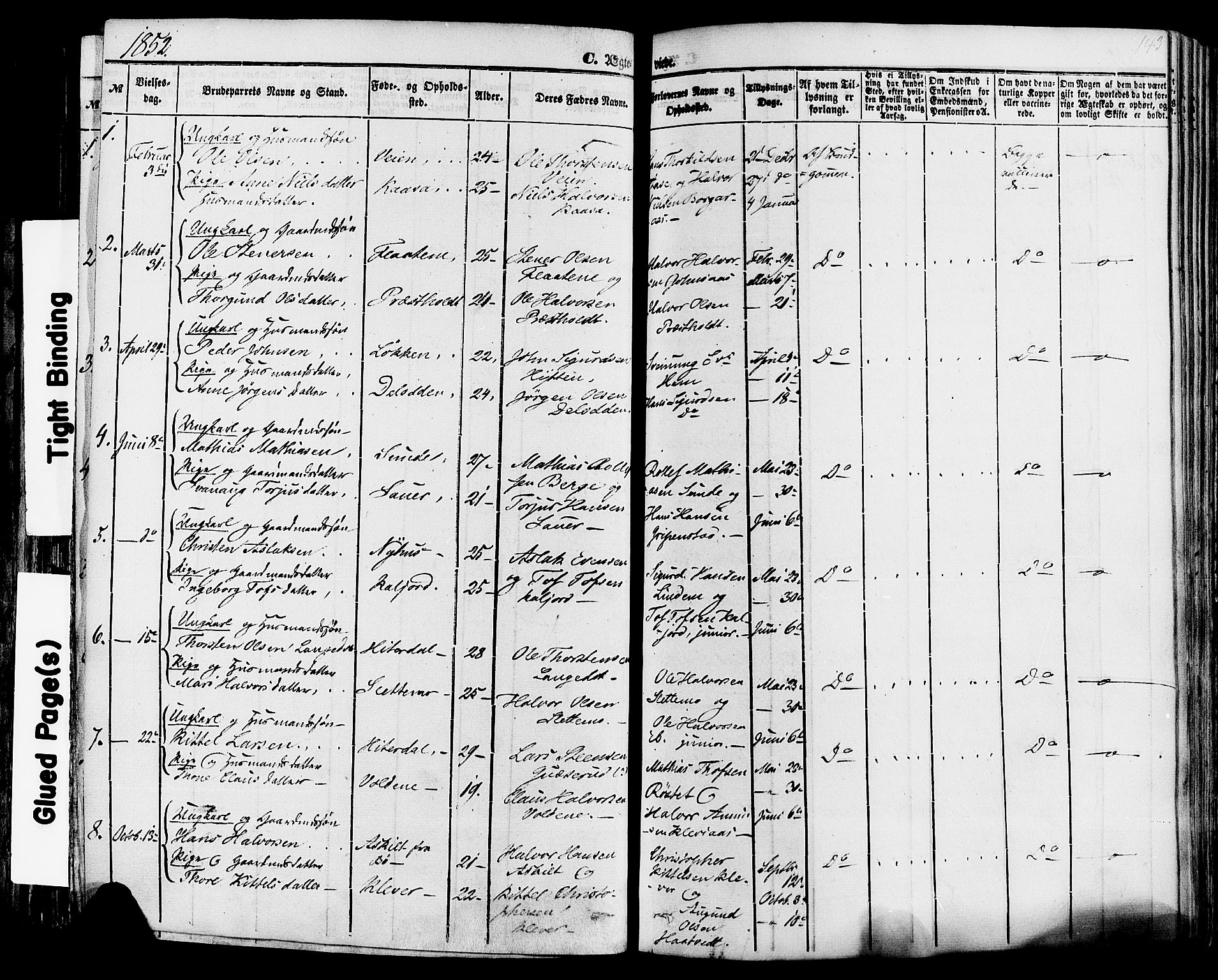SAKO, Sauherad kirkebøker, F/Fa/L0007: Ministerialbok nr. I 7, 1851-1873, s. 143