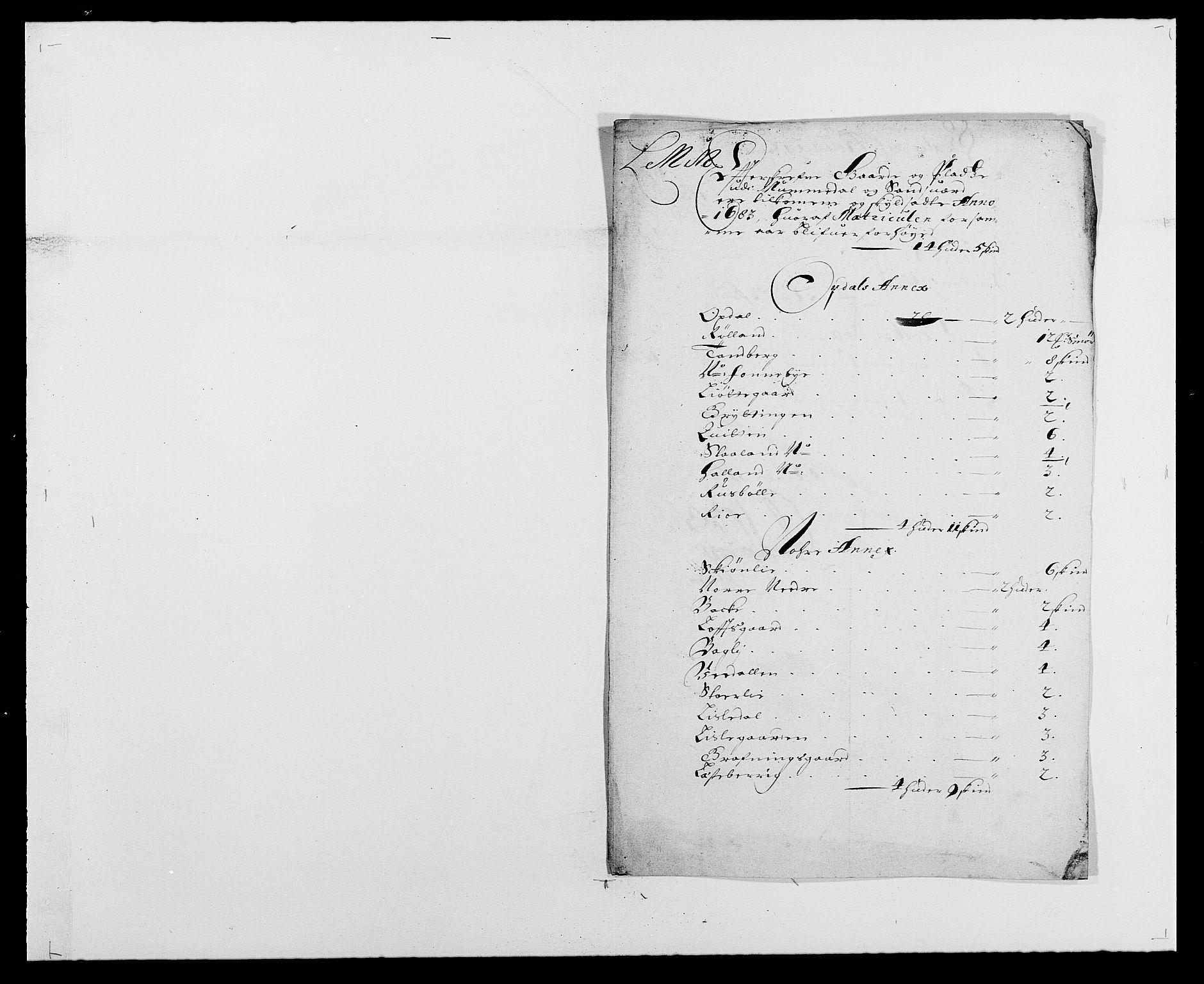 RA, Rentekammeret inntil 1814, Reviderte regnskaper, Fogderegnskap, R24/L1570: Fogderegnskap Numedal og Sandsvær, 1679-1686, s. 194
