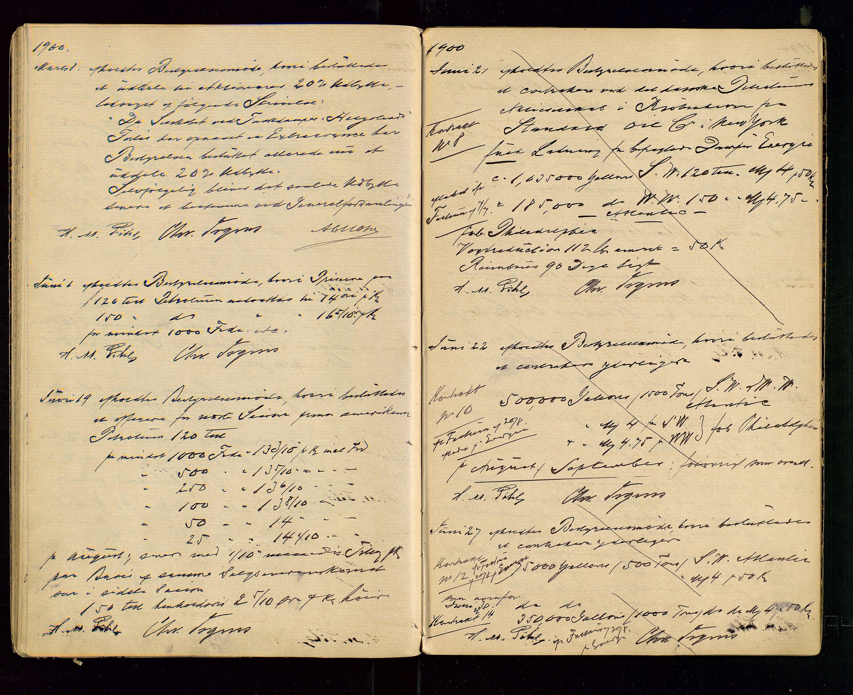 SAST, PA 1533 - A/S Vestlandske Petroleumscompani, A/Aa/L0001: Generalforsamlinger og styreprotokoller, 1890-1907, s. 39