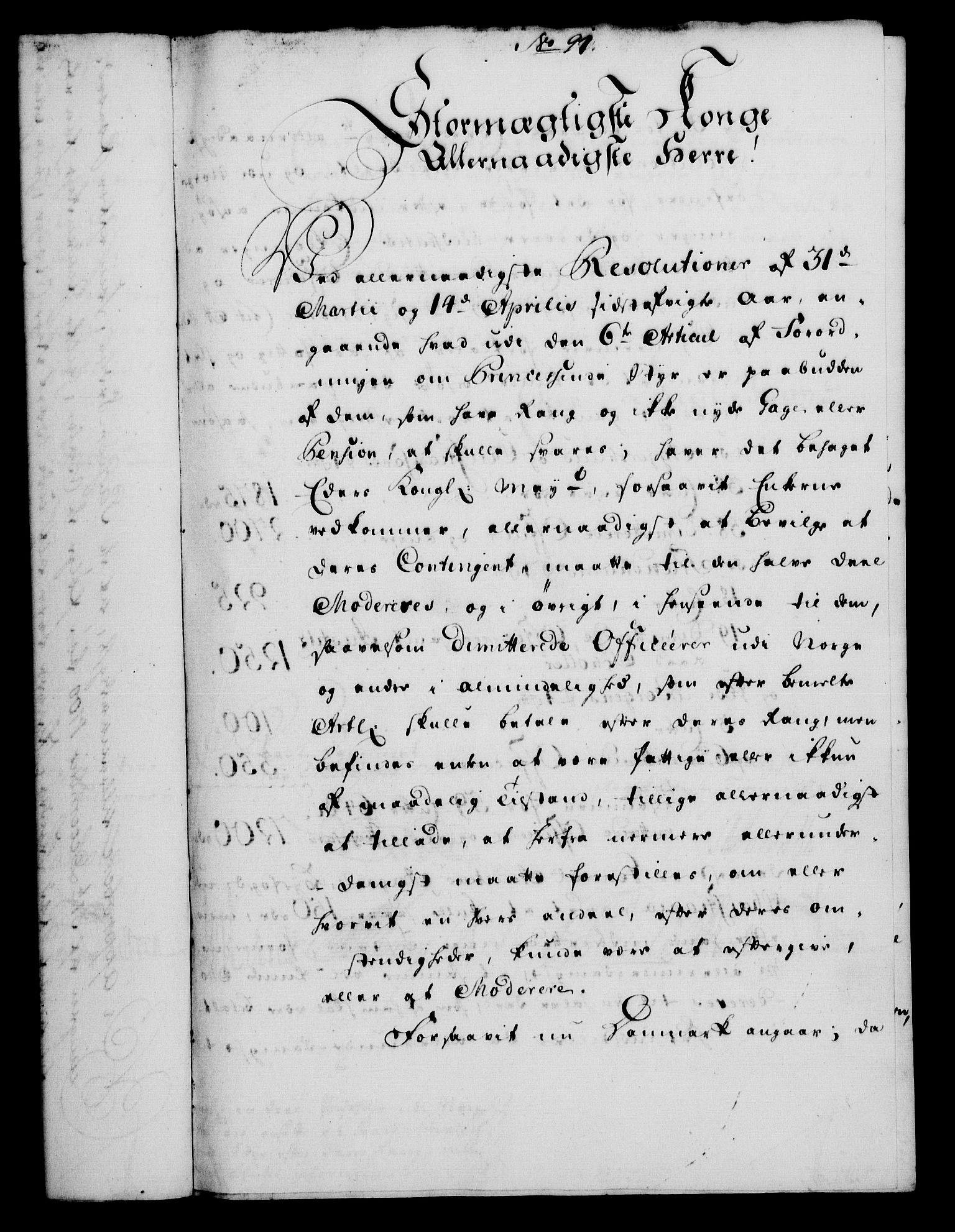 RA, Rentekammeret, Kammerkanselliet, G/Gf/Gfa/L0033: Norsk relasjons- og resolusjonsprotokoll (merket RK 52.33), 1751, s. 441
