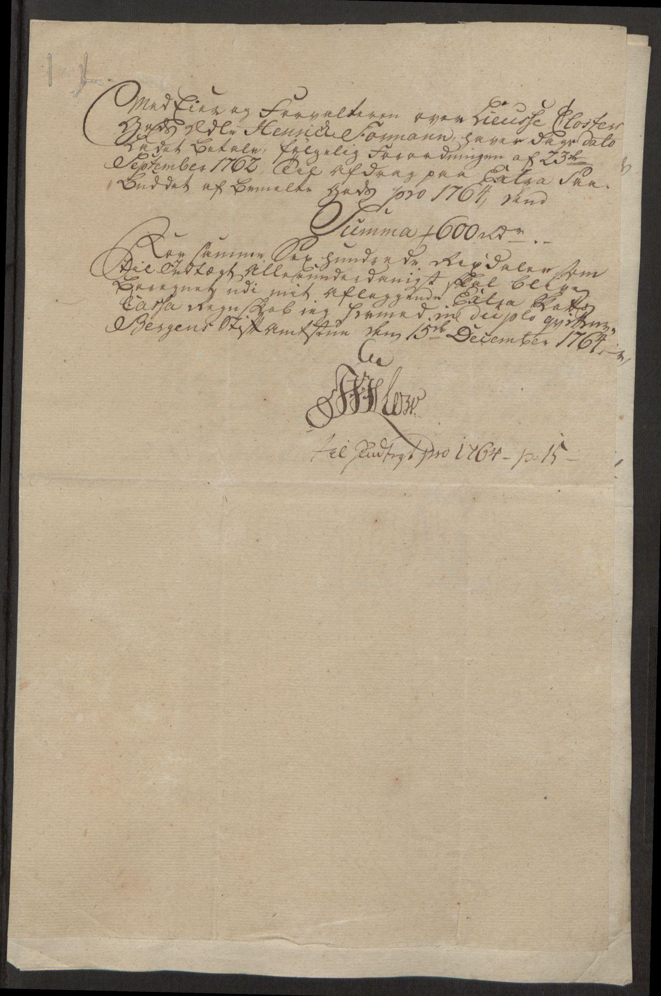 RA, Rentekammeret inntil 1814, Reviderte regnskaper, Fogderegnskap, R50/L3180: Ekstraskatten Lyse kloster, 1762-1783, s. 125