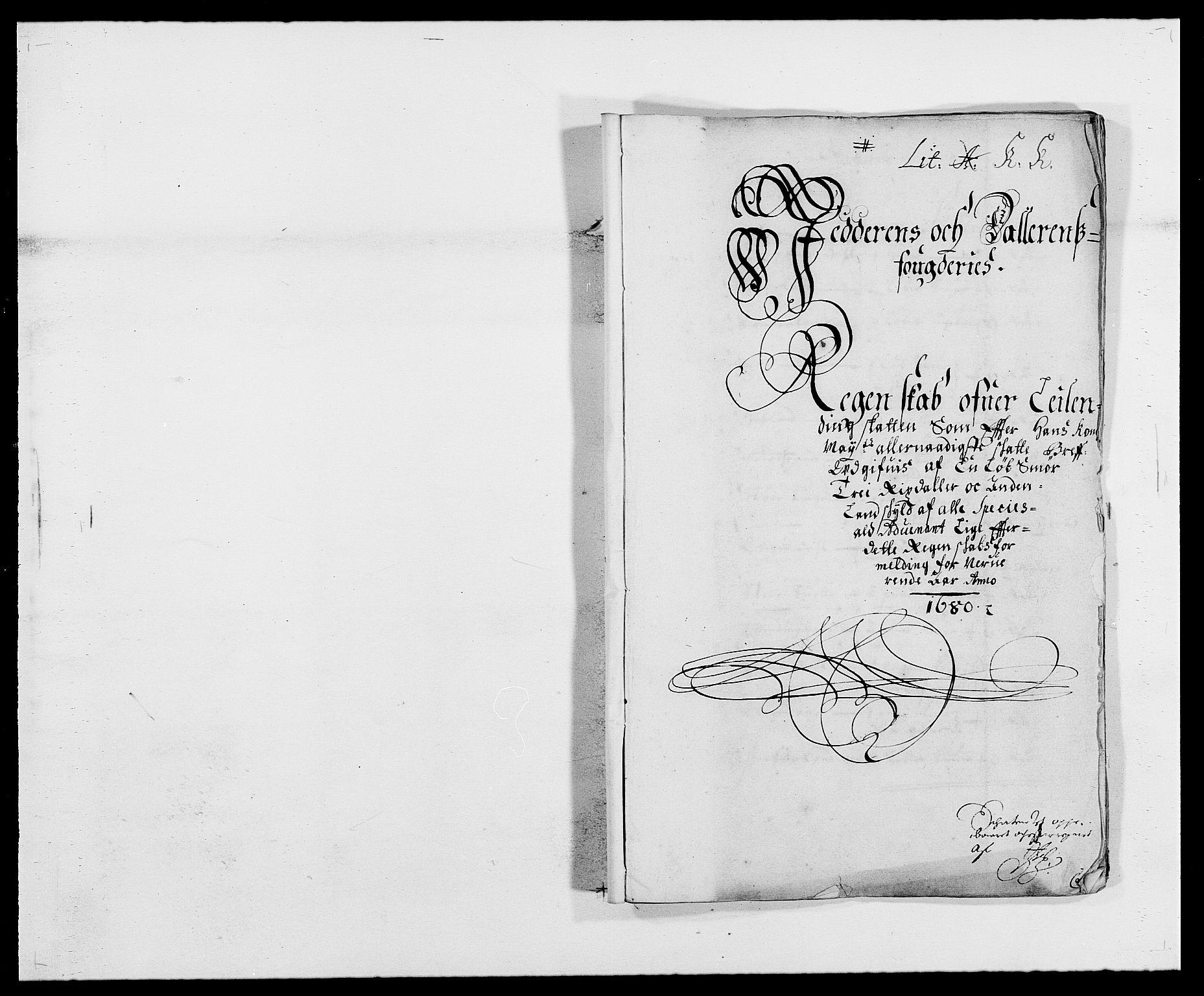 RA, Rentekammeret inntil 1814, Reviderte regnskaper, Fogderegnskap, R46/L2721: Fogderegnskap Jæren og Dalane, 1680, s. 1