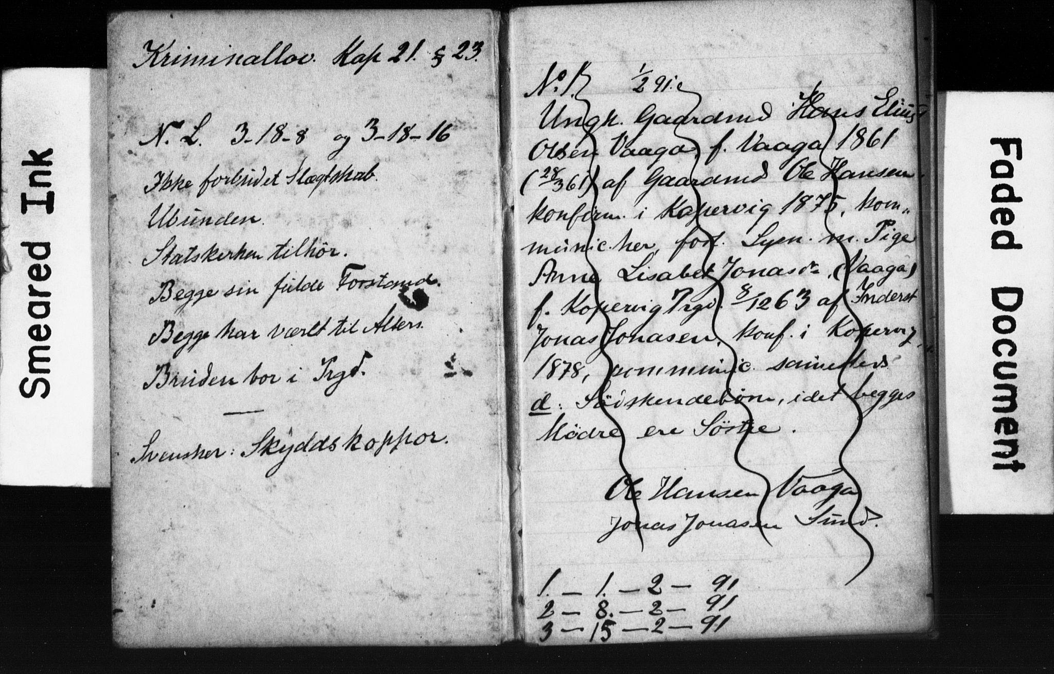 SAST, Avaldsnes sokneprestkontor, I/Ie/L0003: Lysningsprotokoll nr. IX 3B, 1891-1893