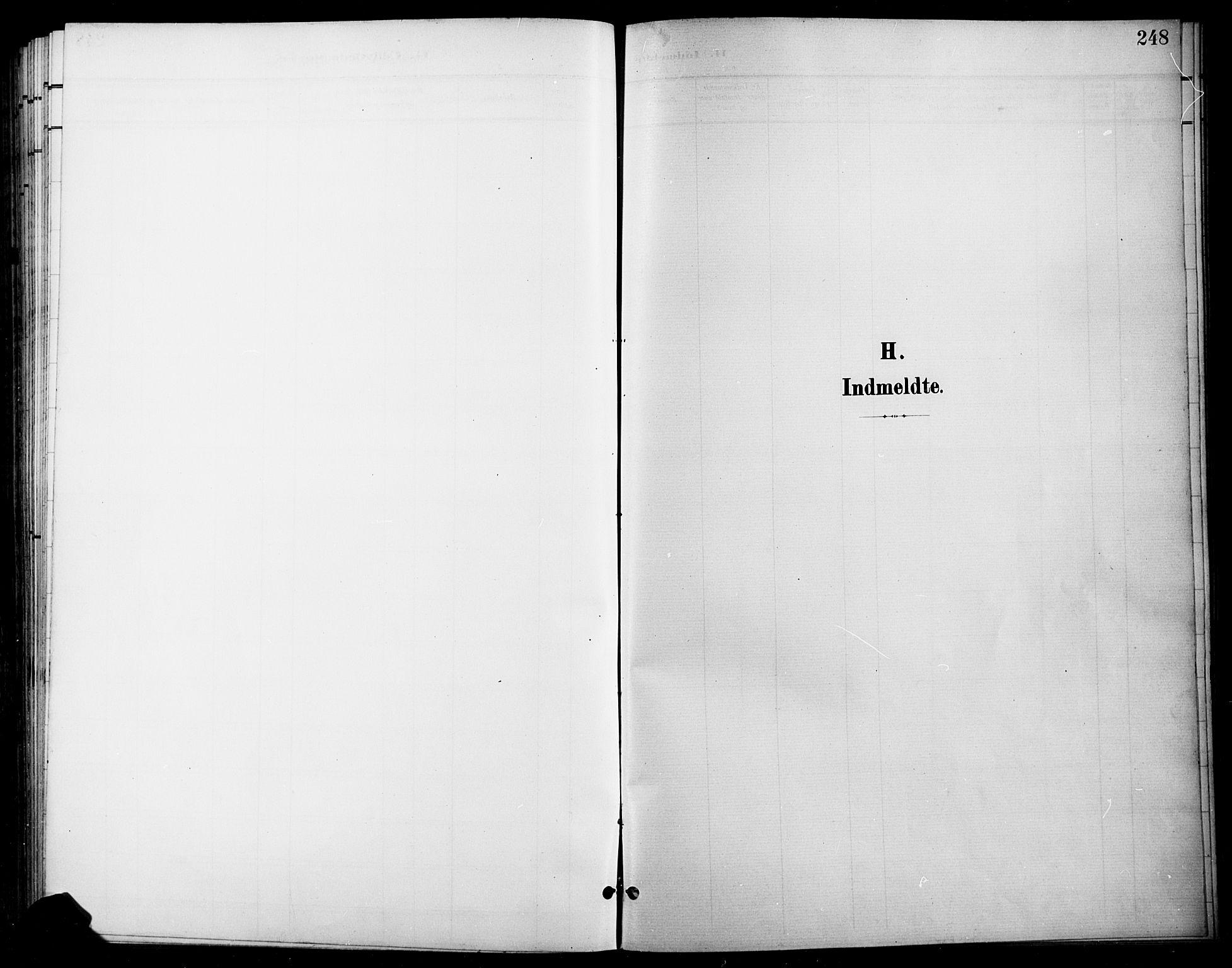 SAH, Gran prestekontor, Ministerialbok nr. 19, 1898-1907, s. 248