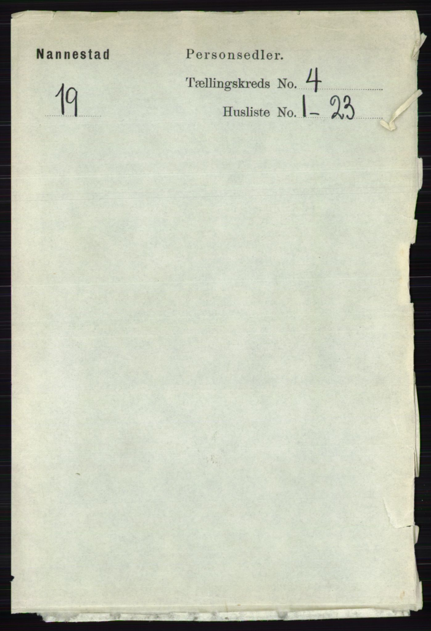 RA, Folketelling 1891 for 0238 Nannestad herred, 1891, s. 2057