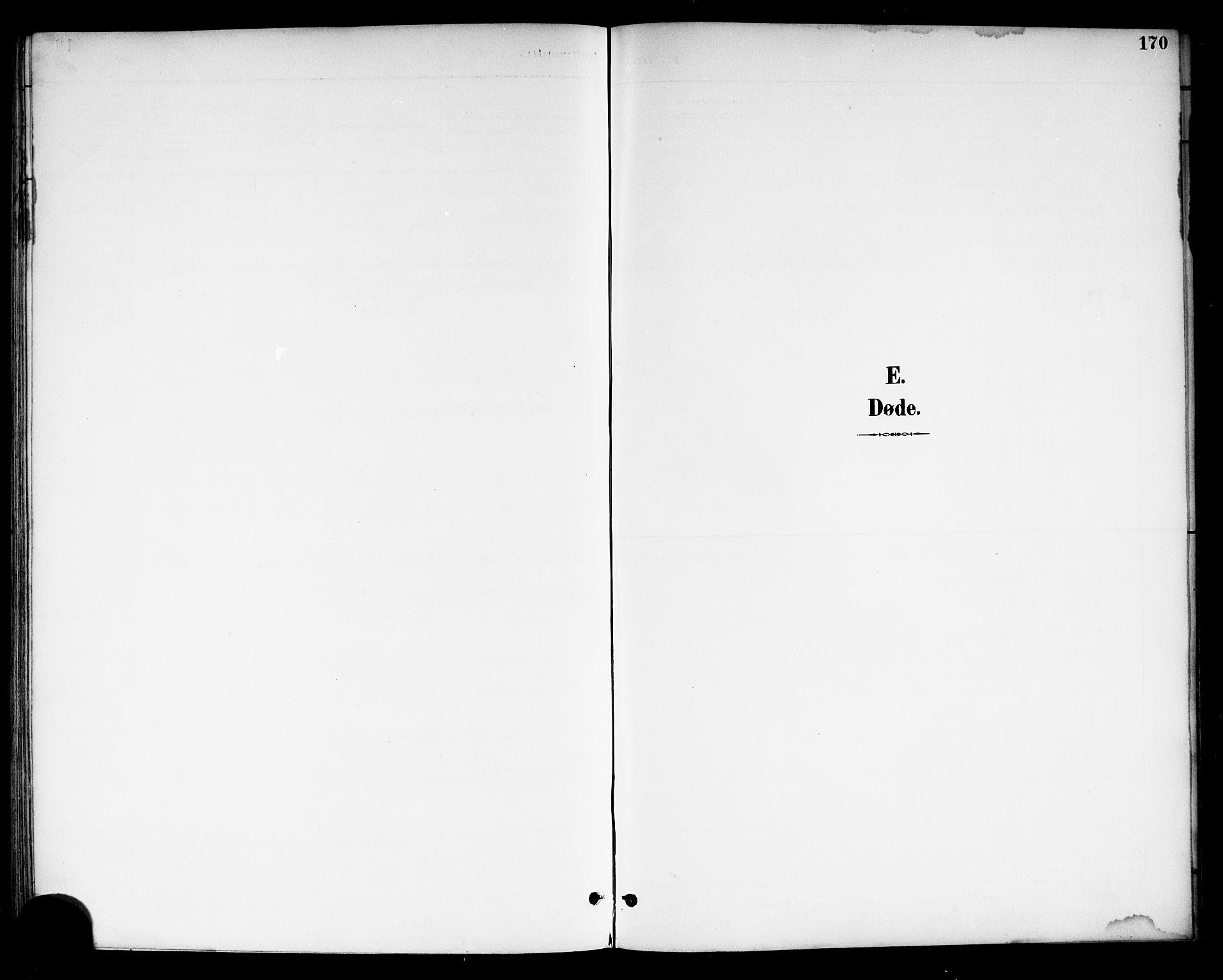SAKO, Drangedal kirkebøker, G/Gb/L0002: Klokkerbok nr. II 2, 1895-1918, s. 170