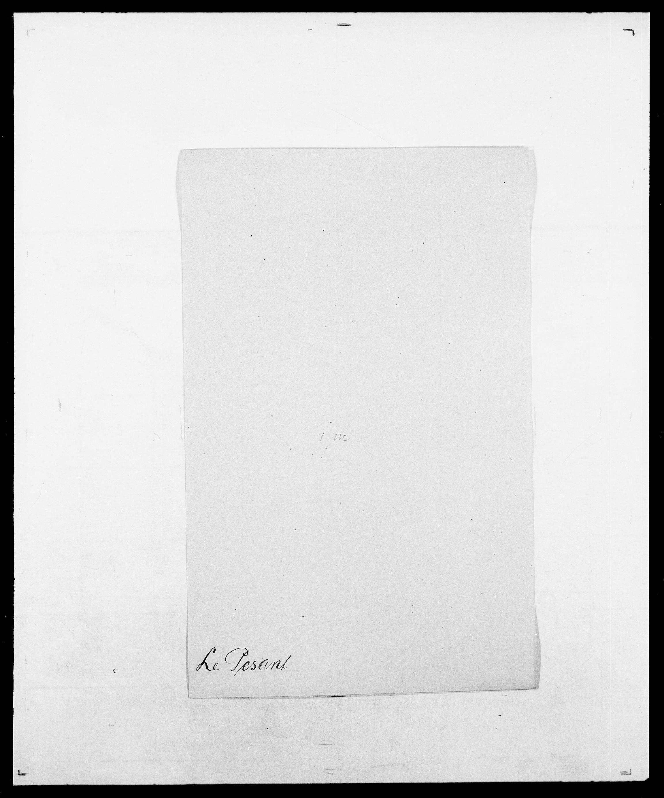 SAO, Delgobe, Charles Antoine - samling, D/Da/L0030: Paars - Pittelkov, s. 372