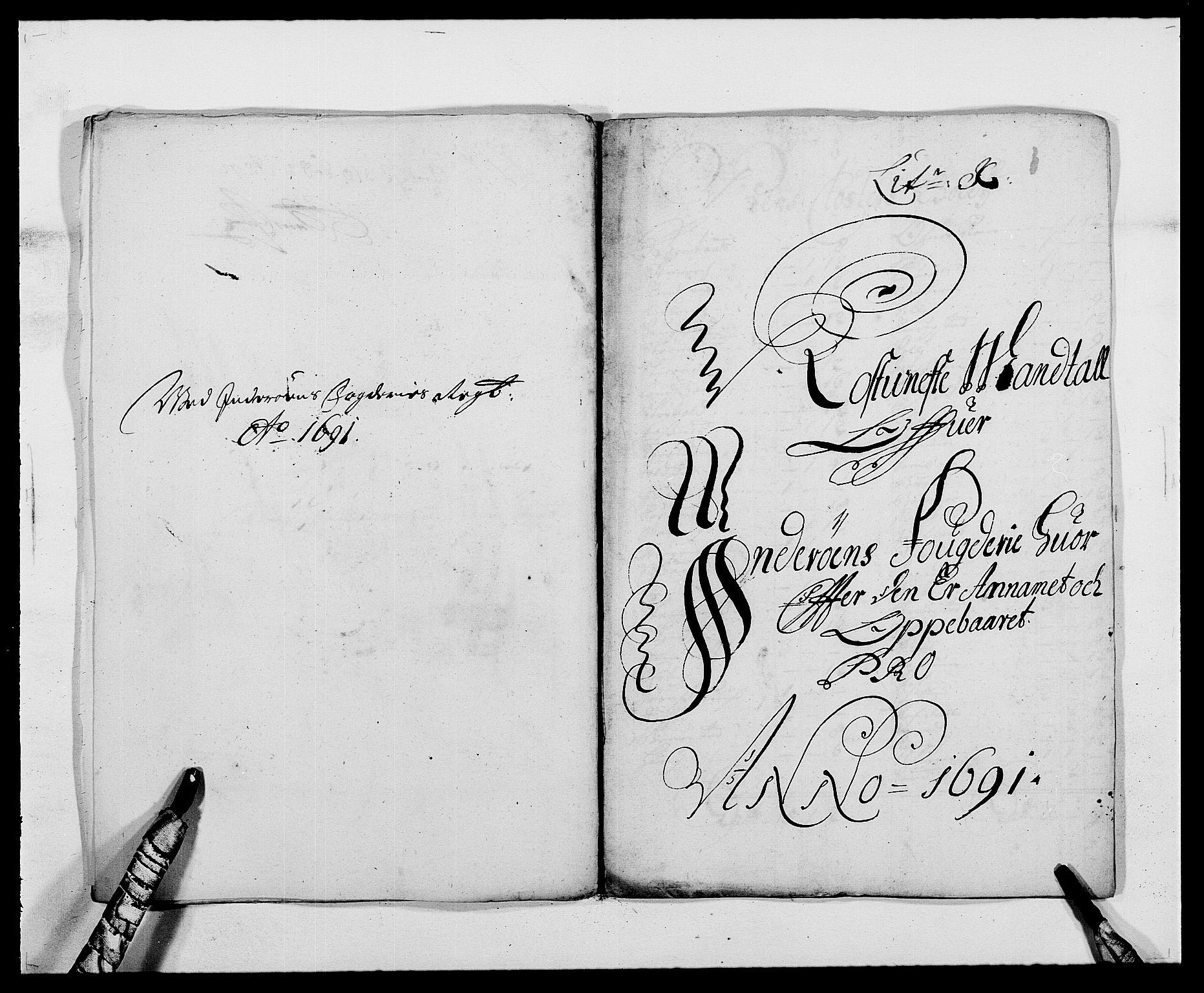 RA, Rentekammeret inntil 1814, Reviderte regnskaper, Fogderegnskap, R63/L4307: Fogderegnskap Inderøy, 1690-1691, s. 360