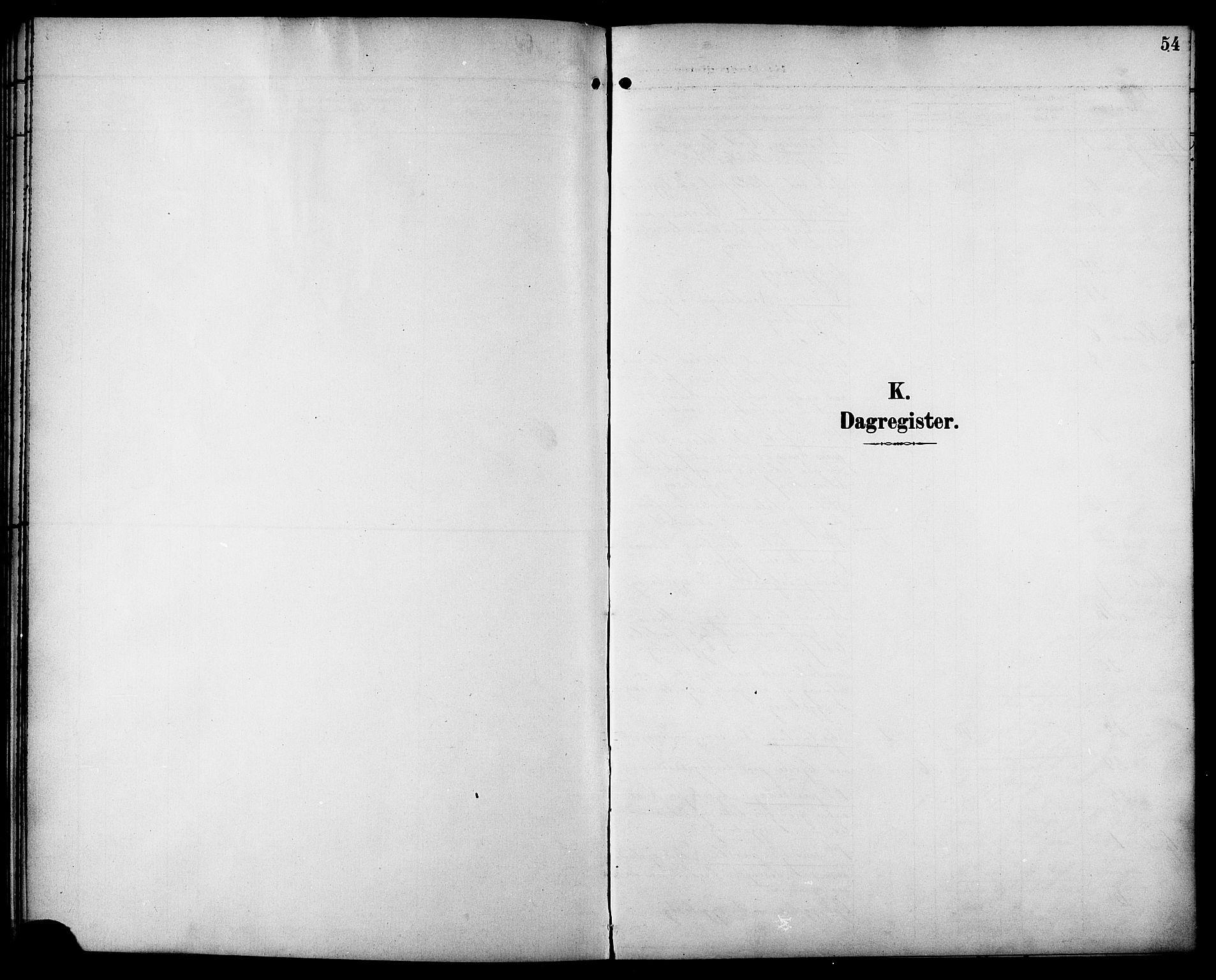 SAT, Ministerialprotokoller, klokkerbøker og fødselsregistre - Sør-Trøndelag, 629/L0486: Ministerialbok nr. 629A02, 1894-1919, s. 54