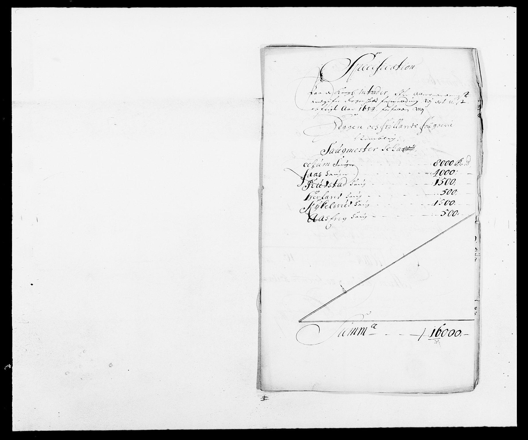 RA, Rentekammeret inntil 1814, Reviderte regnskaper, Fogderegnskap, R06/L0280: Fogderegnskap Heggen og Frøland, 1681-1684, s. 454
