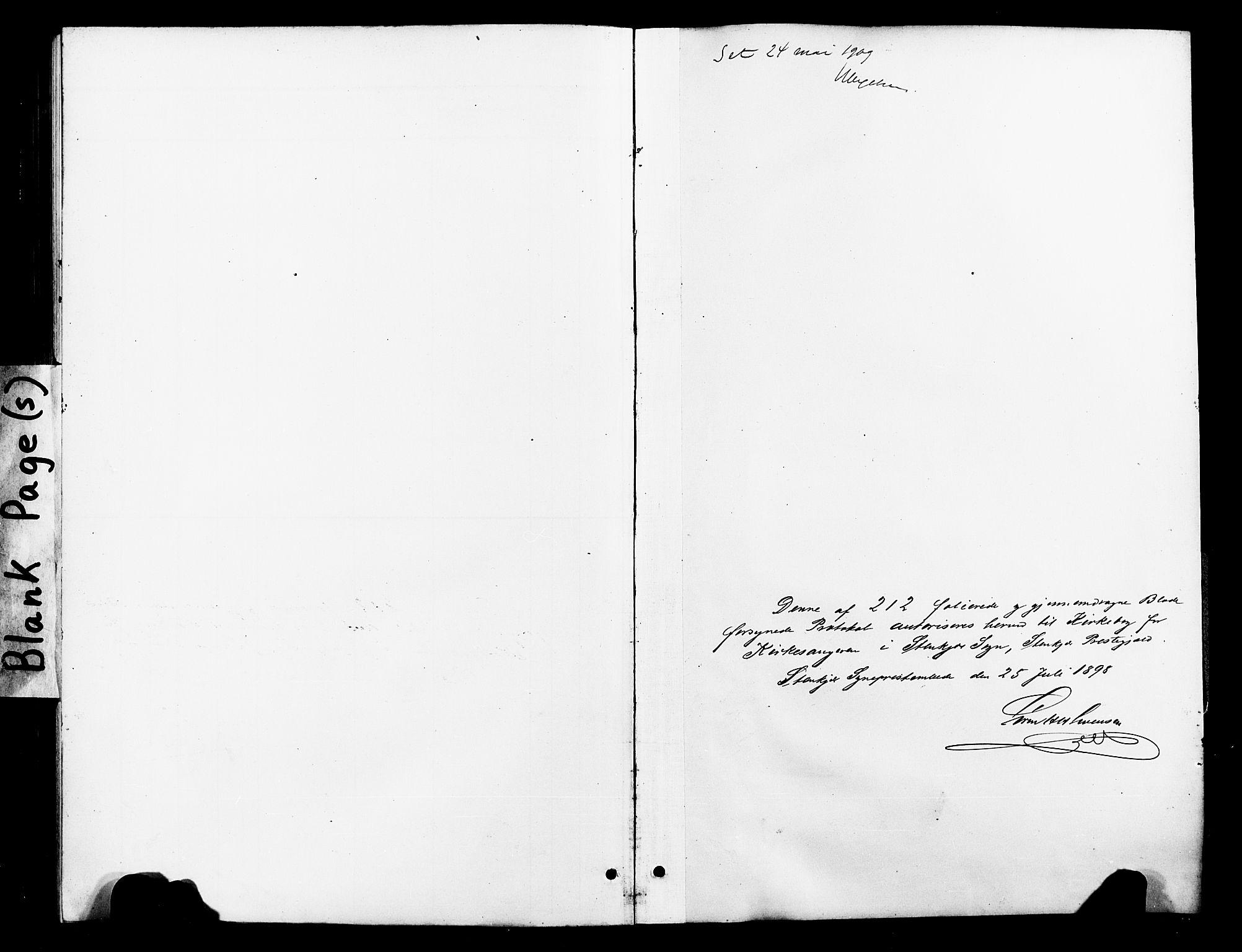 SAT, Ministerialprotokoller, klokkerbøker og fødselsregistre - Nord-Trøndelag, 739/L0375: Klokkerbok nr. 739C03, 1898-1908