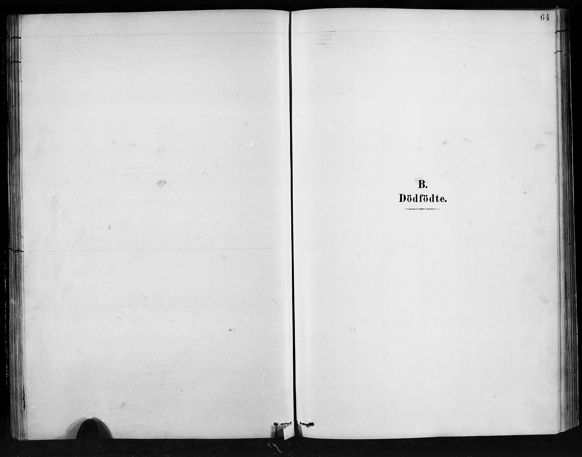SAB, Jostedal sokneprestembete, H/Hab/Habb/L0001: Klokkerbok nr. B 1, 1882-1921, s. 64