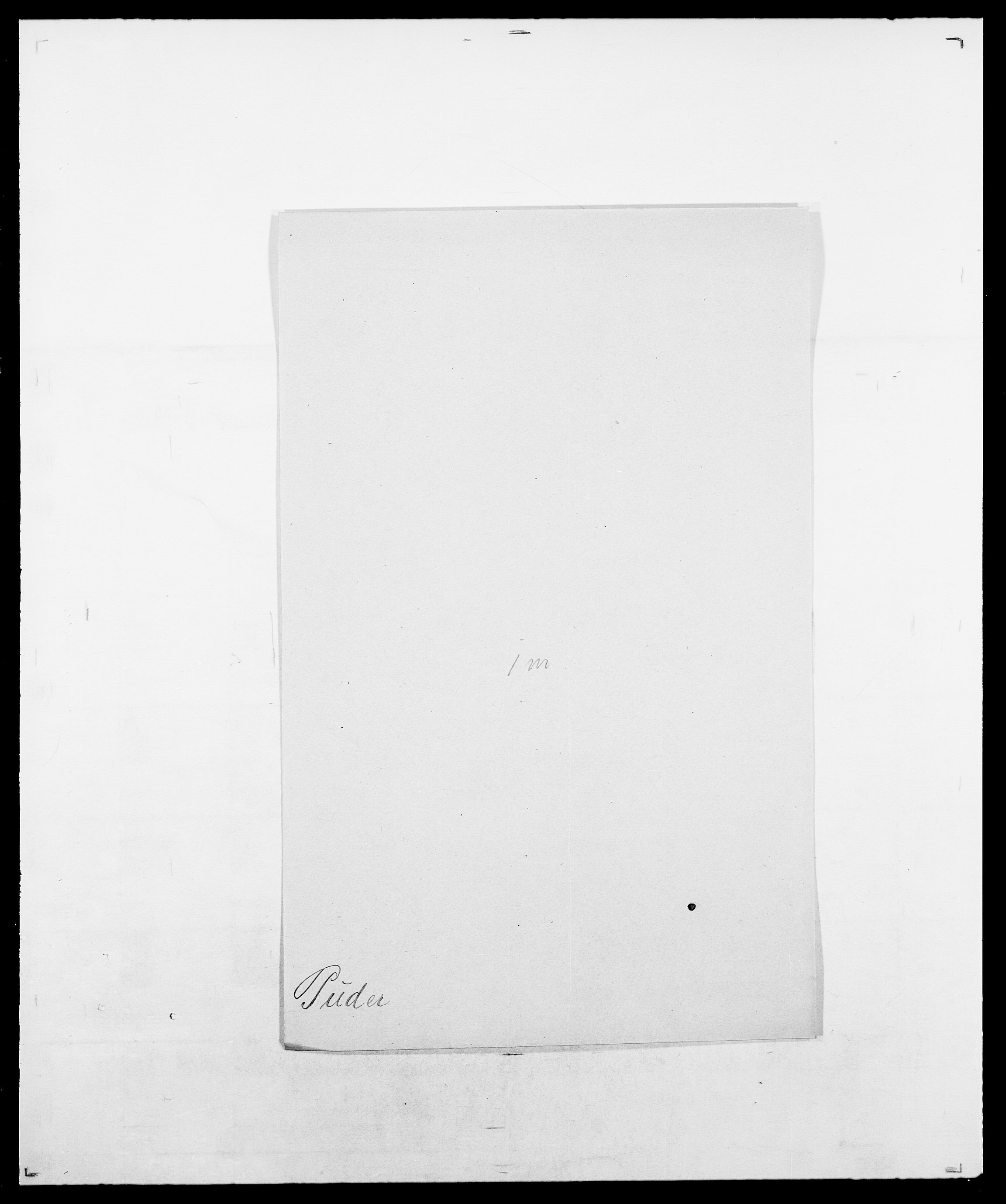 SAO, Delgobe, Charles Antoine - samling, D/Da/L0031: de Place - Raaum, s. 428