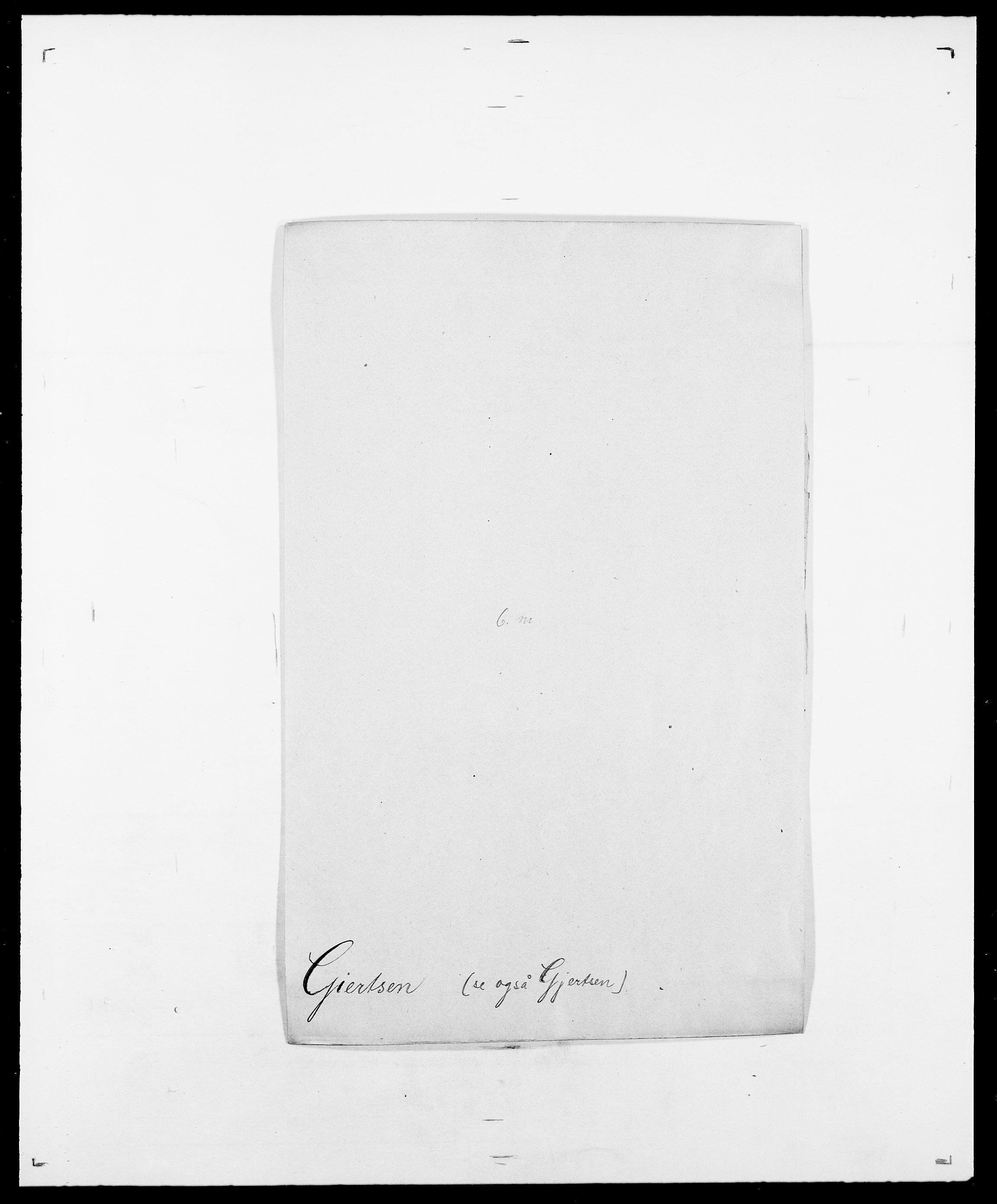 SAO, Delgobe, Charles Antoine - samling, D/Da/L0014: Giebdhausen - Grip, s. 9