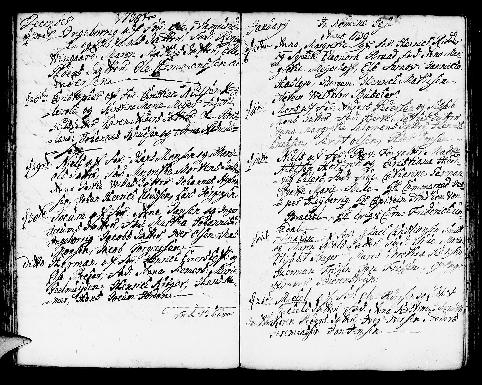 SAB, Korskirken Sokneprestembete, H/Haa/L0004: Ministerialbok nr. A 4, 1720-1750, s. 197