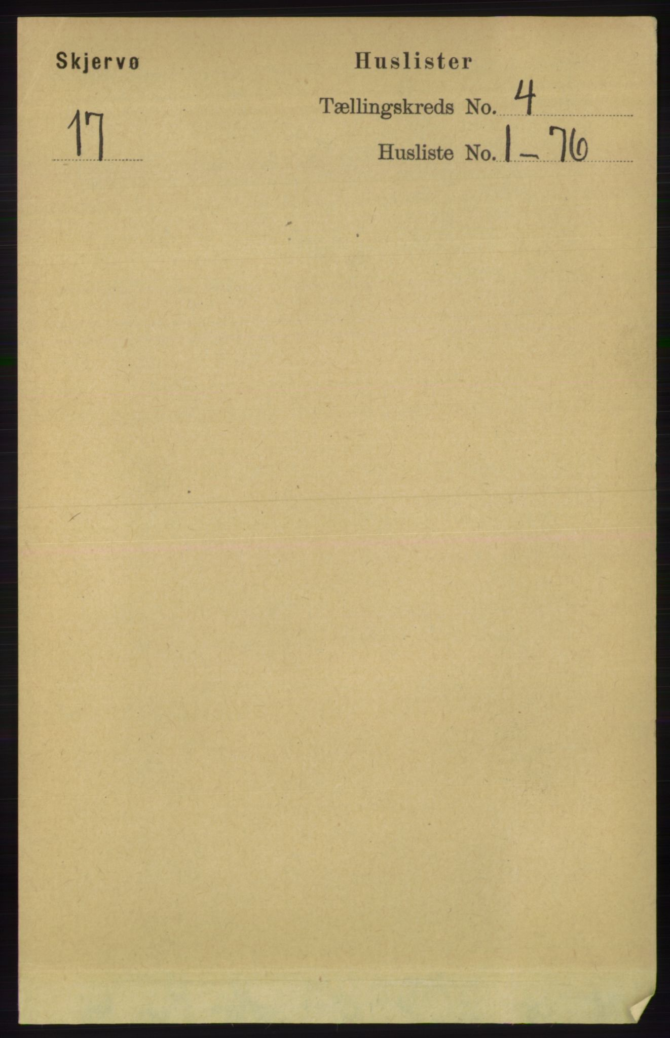 RA, Folketelling 1891 for 1941 Skjervøy herred, 1891, s. 2223