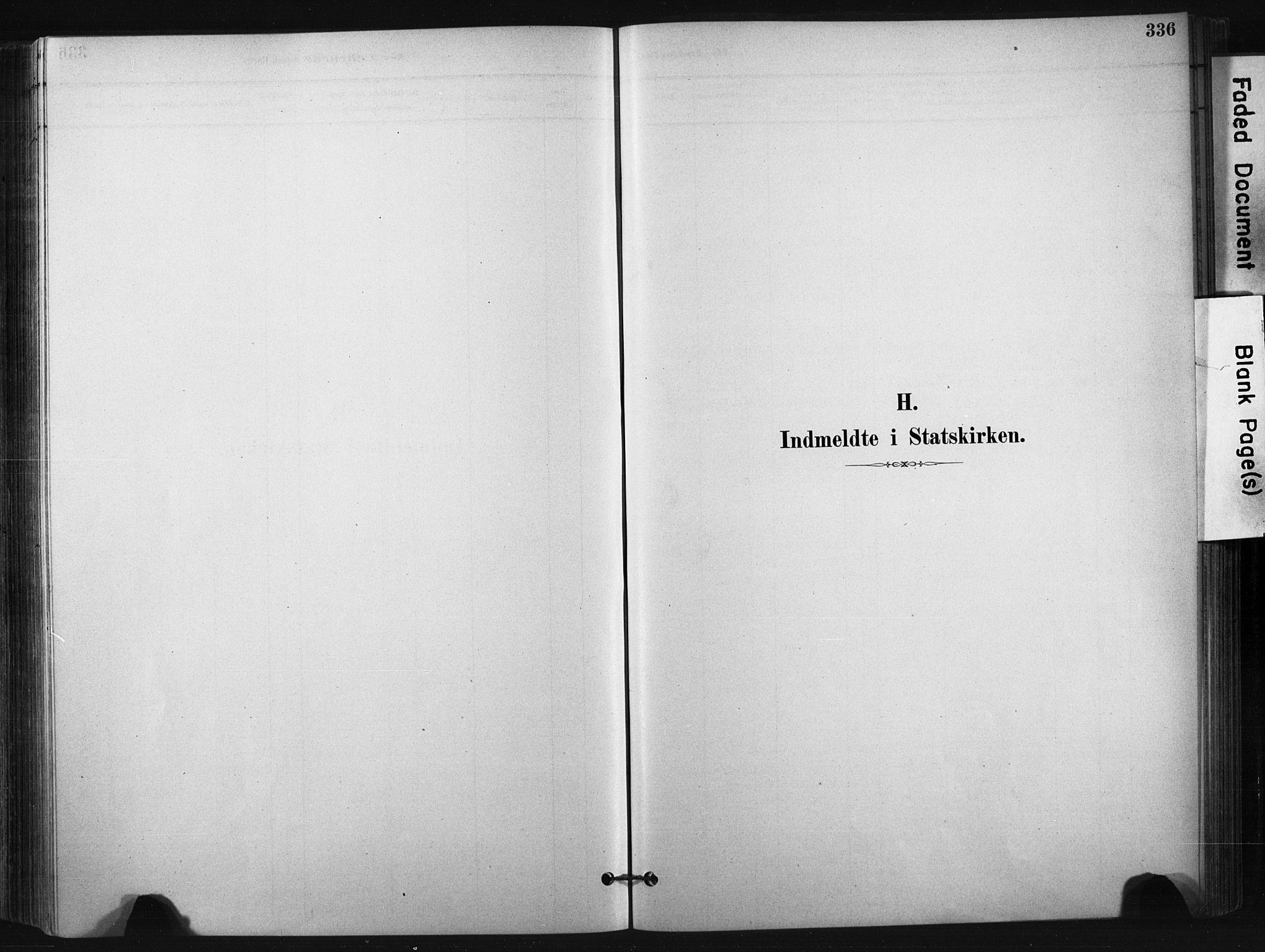SAKO, Bø kirkebøker, F/Fa/L0010: Ministerialbok nr. 10, 1880-1892, s. 336