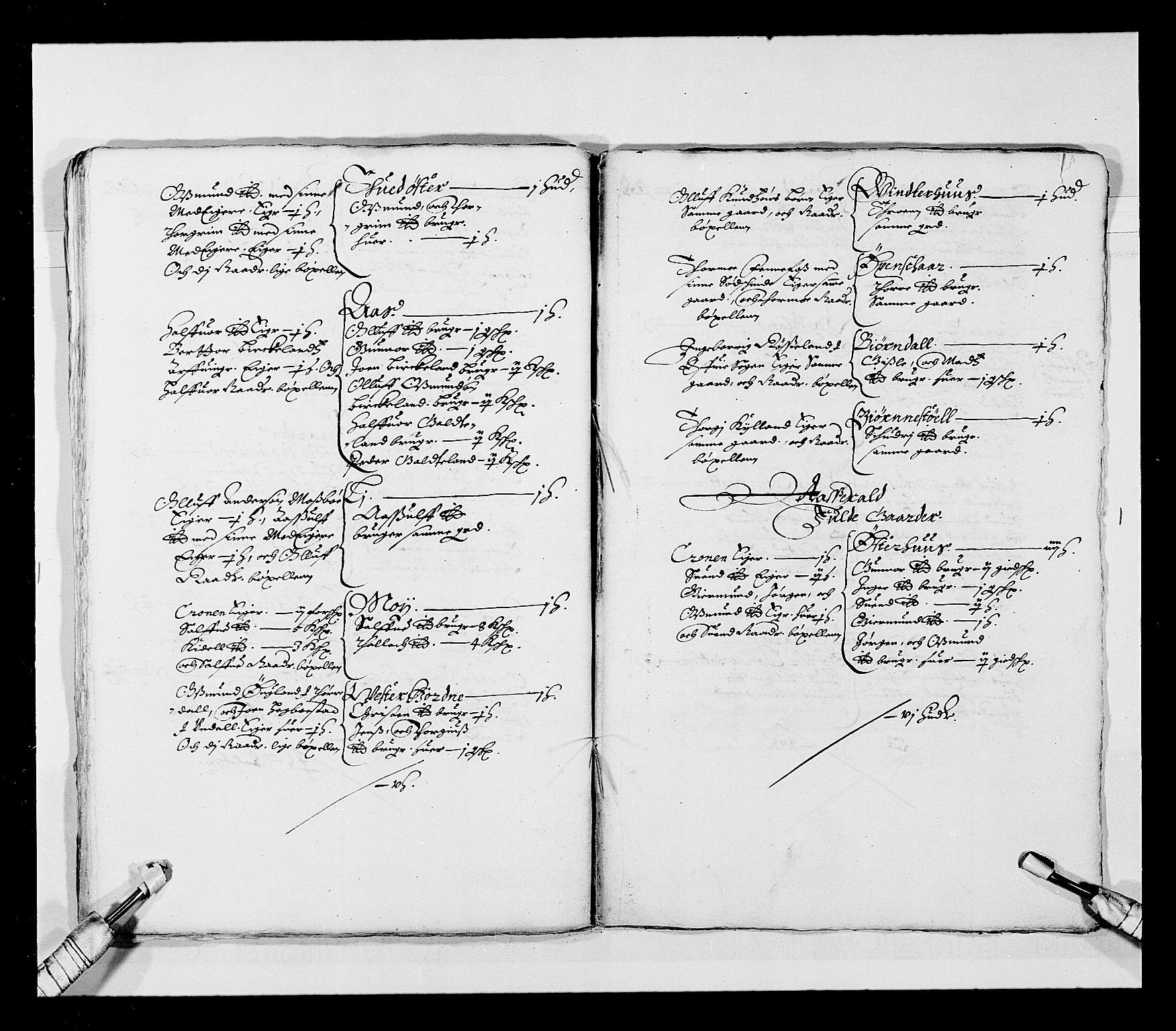 RA, Stattholderembetet 1572-1771, Ek/L0023: Jordebøker 1633-1658:, 1648-1649, s. 33