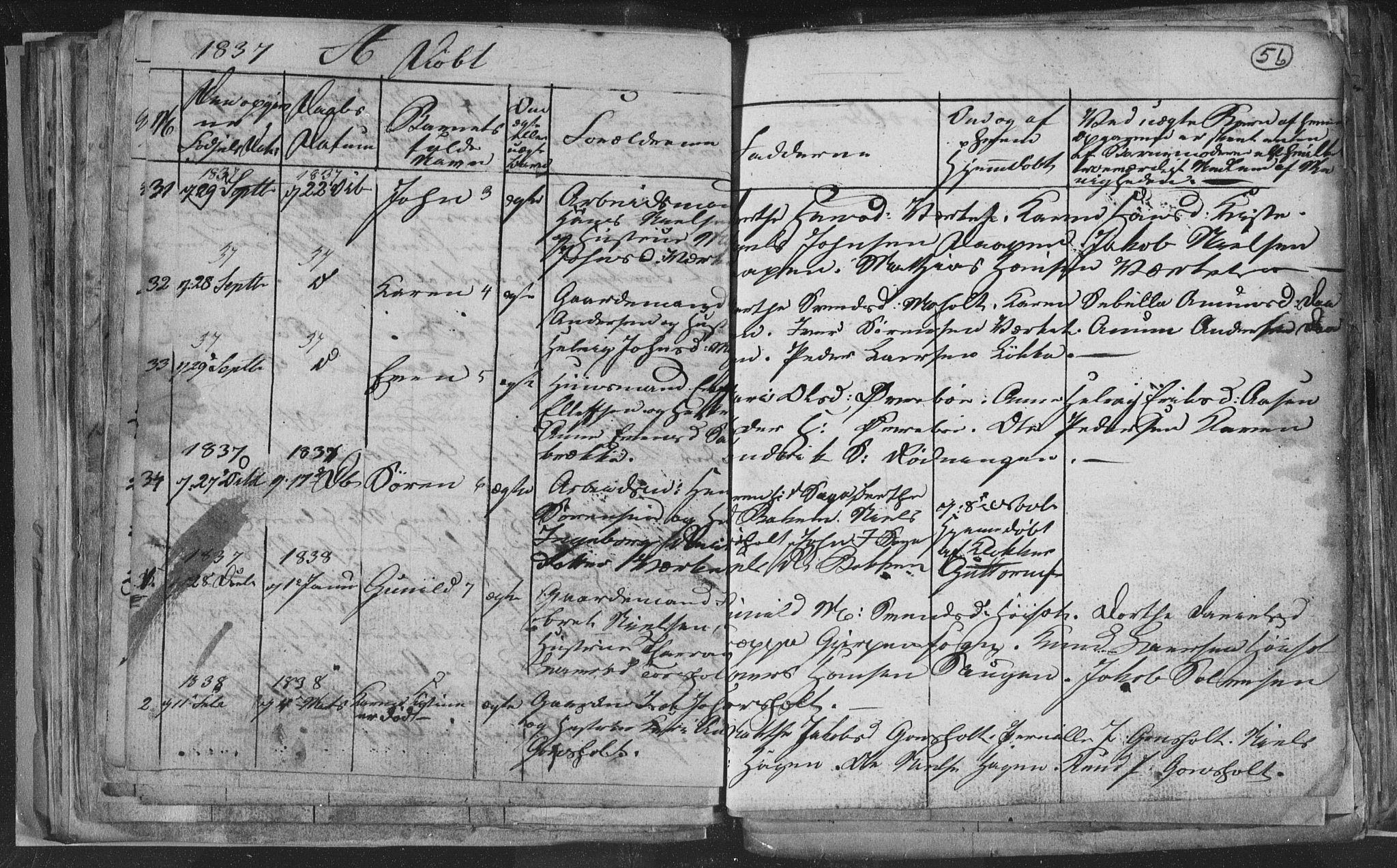 SAKO, Siljan kirkebøker, G/Ga/L0001: Klokkerbok nr. 1, 1827-1847, s. 56
