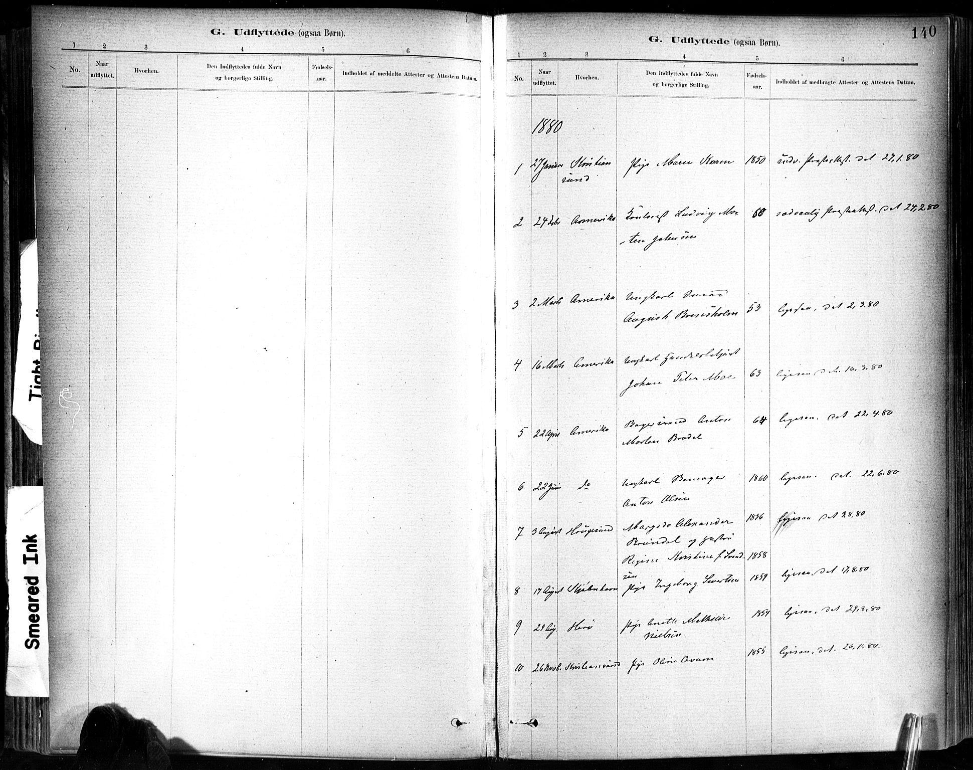 SAT, Ministerialprotokoller, klokkerbøker og fødselsregistre - Sør-Trøndelag, 602/L0120: Ministerialbok nr. 602A18, 1880-1913, s. 140