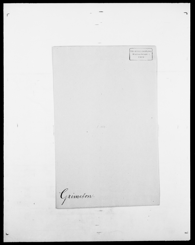 SAO, Delgobe, Charles Antoine - samling, D/Da/L0014: Giebdhausen - Grip, s. 686