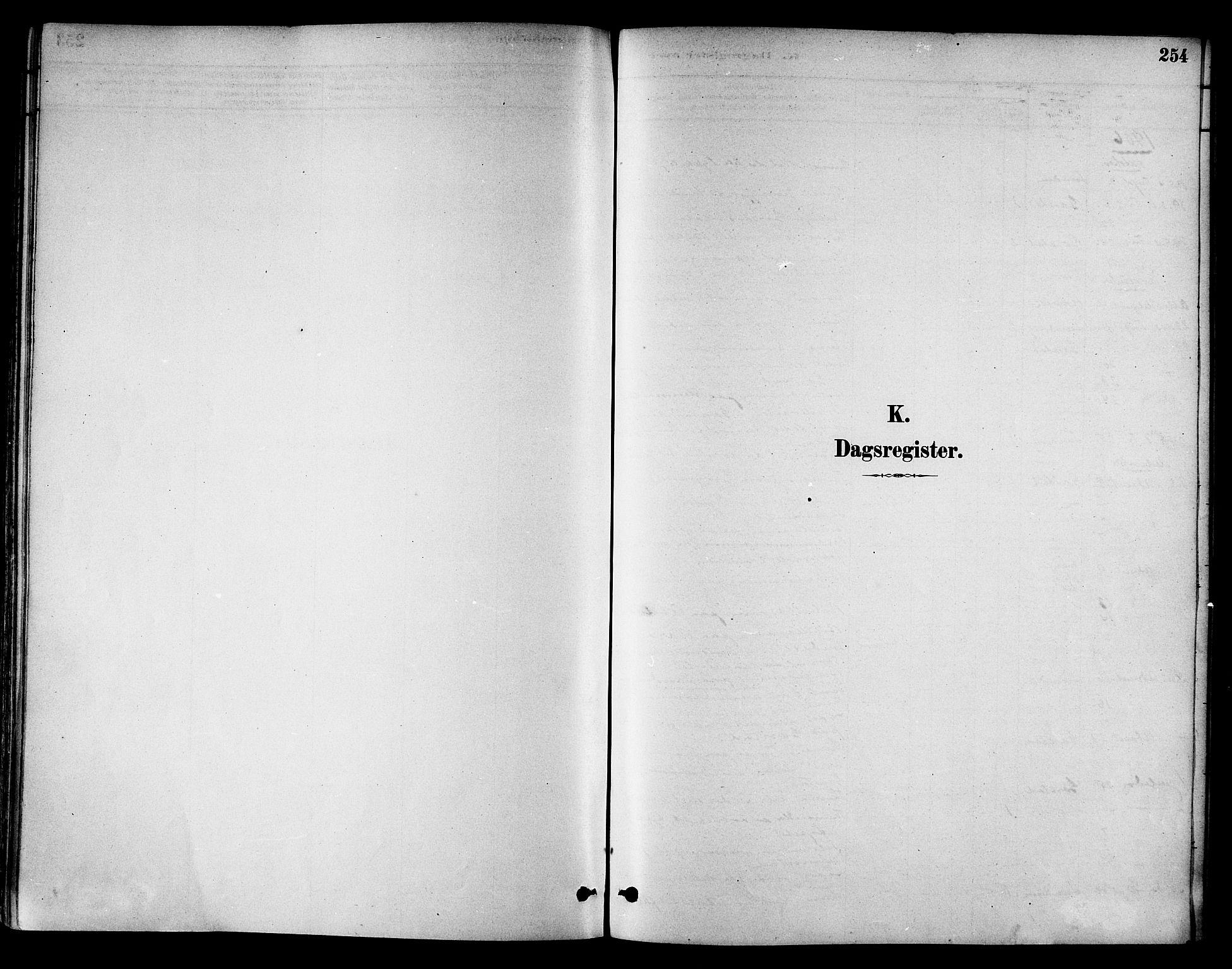 SAT, Ministerialprotokoller, klokkerbøker og fødselsregistre - Nord-Trøndelag, 786/L0686: Ministerialbok nr. 786A02, 1880-1887, s. 254