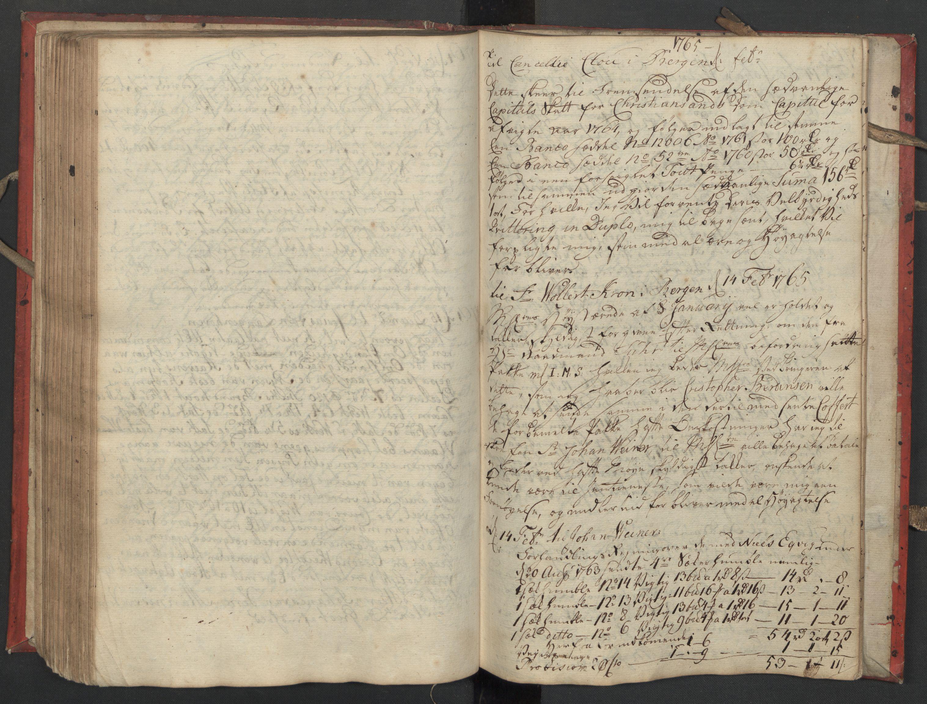SAST, Pa 0119 - Smith, Lauritz Andersen og Lauritz Lauritzen, O/L0002: Kopibok, 1755-1766, s. 140