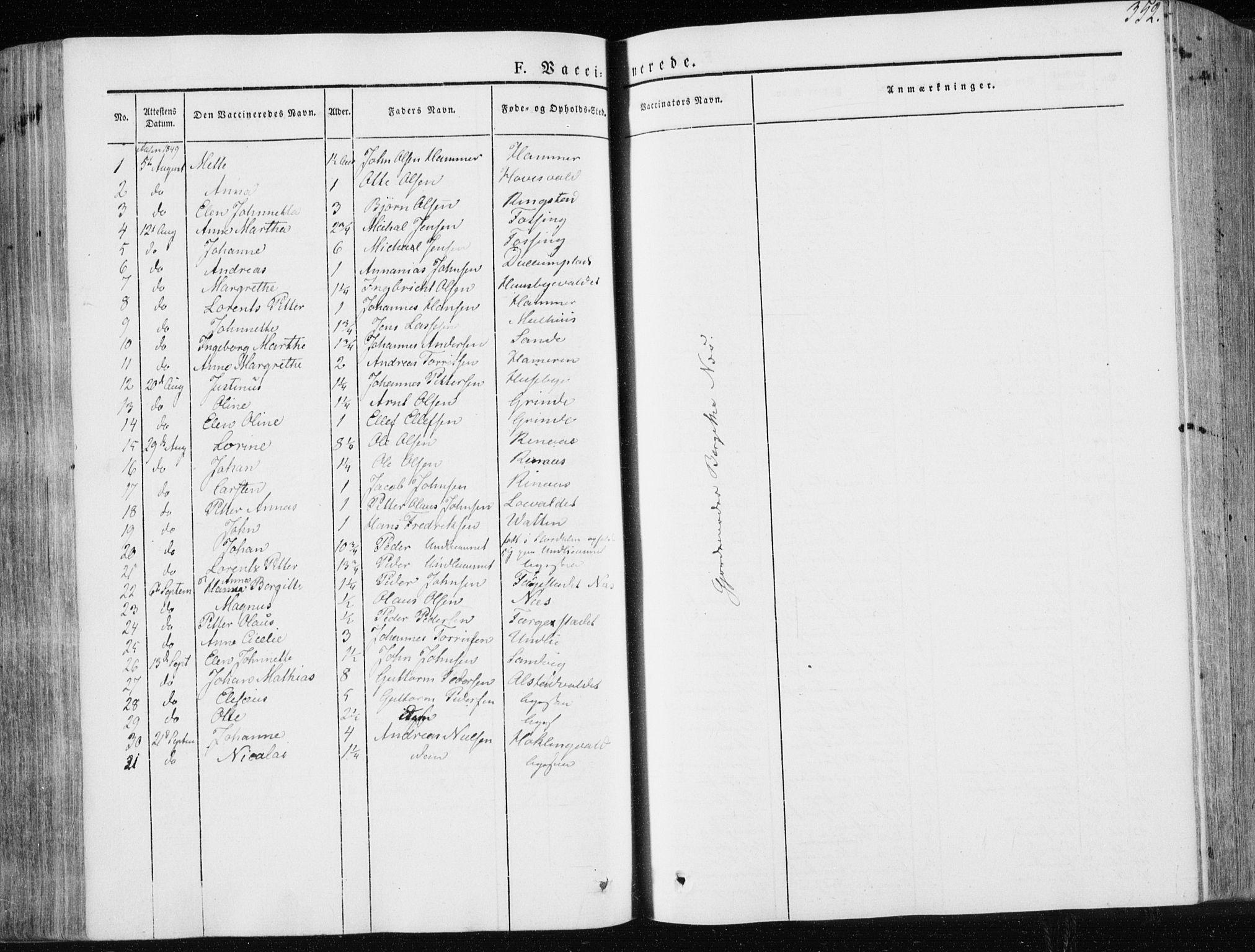 SAT, Ministerialprotokoller, klokkerbøker og fødselsregistre - Nord-Trøndelag, 713/L0115: Ministerialbok nr. 713A06, 1838-1851, s. 352