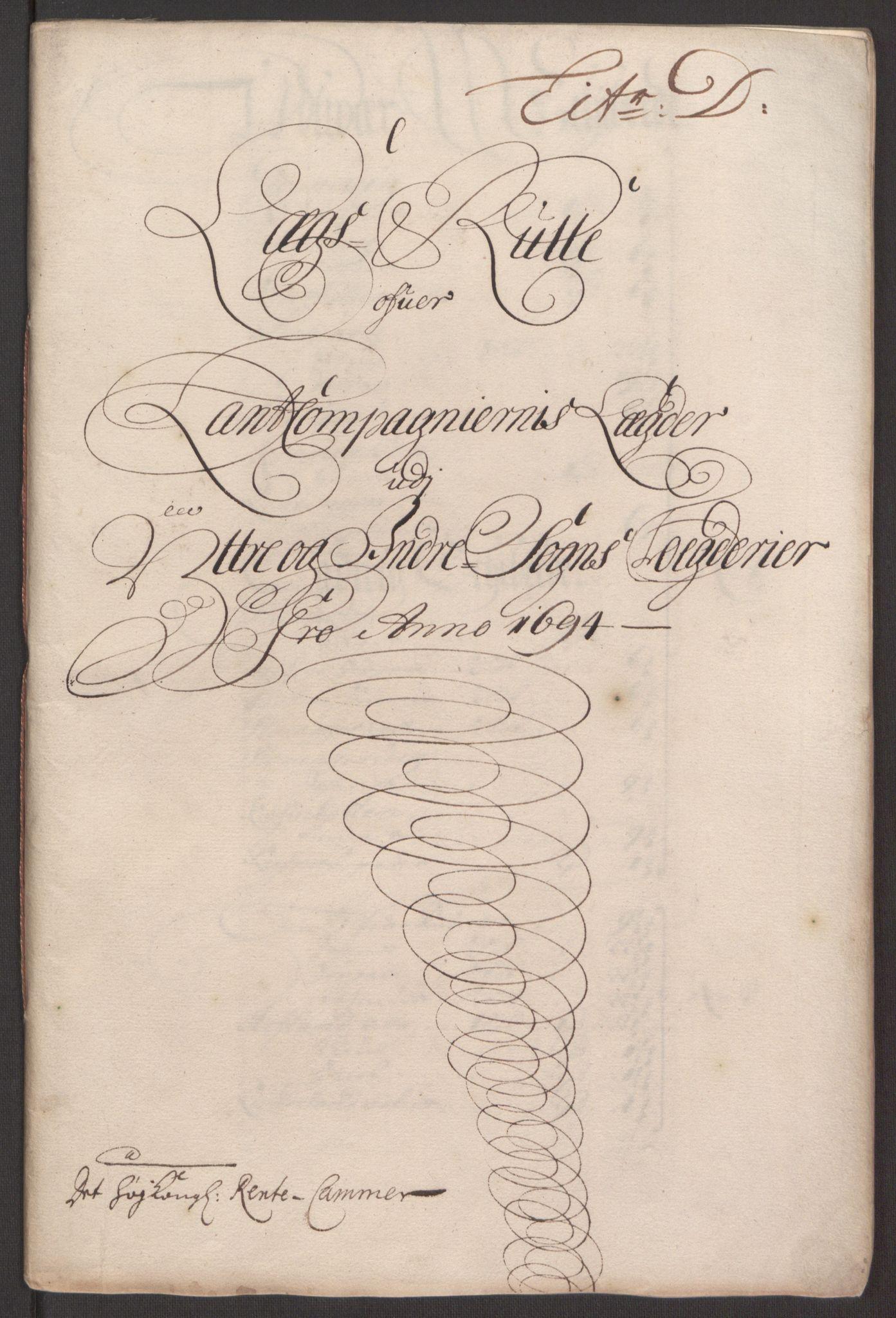 RA, Rentekammeret inntil 1814, Reviderte regnskaper, Fogderegnskap, R52/L3307: Fogderegnskap Sogn, 1693-1694, s. 385