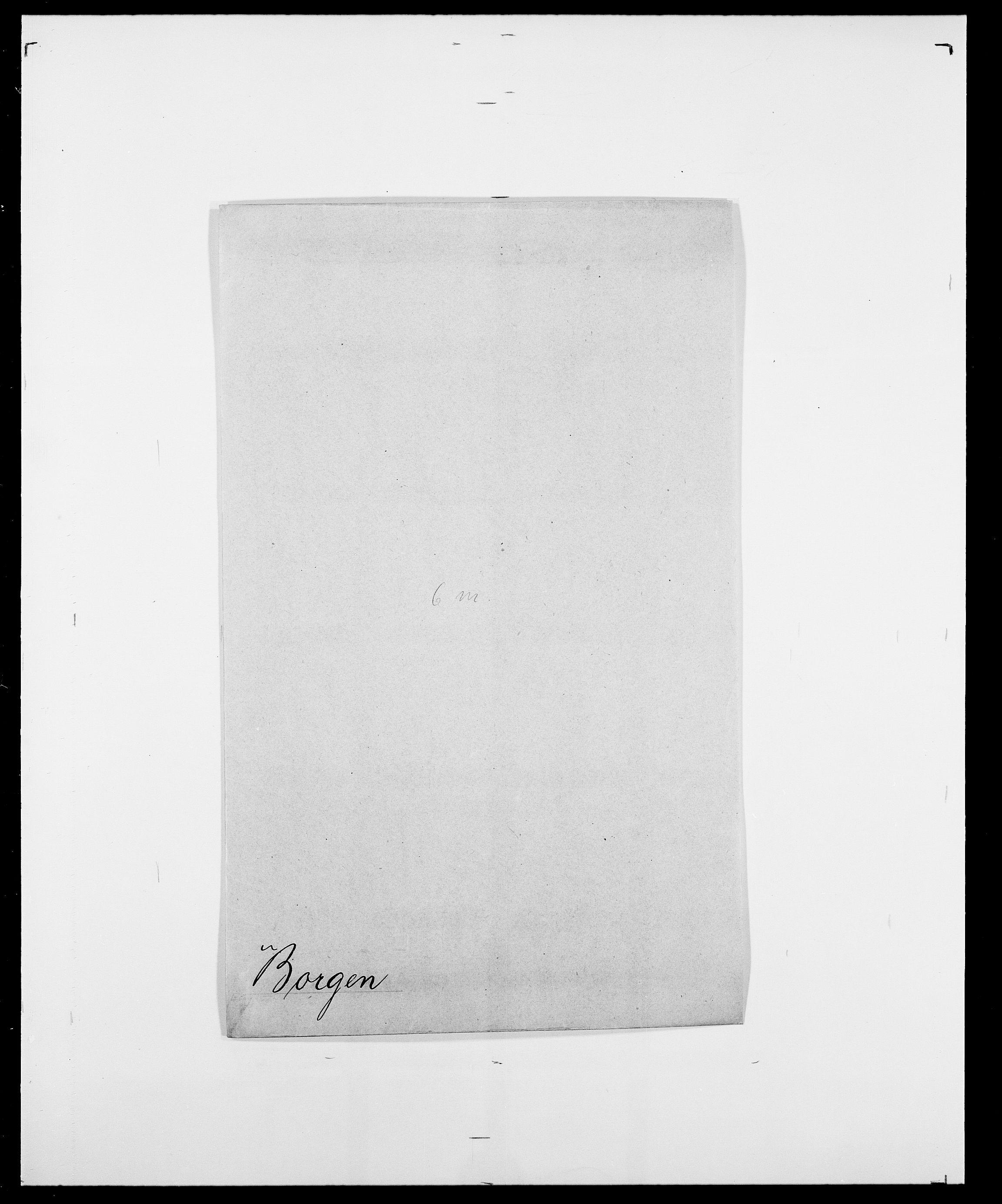 SAO, Delgobe, Charles Antoine - samling, D/Da/L0005: Boalth - Brahm, s. 277
