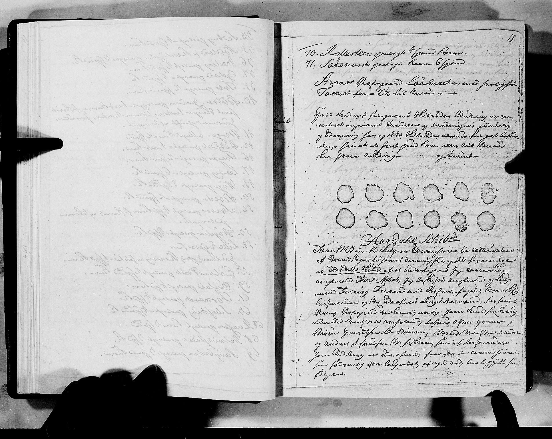 RA, Rentekammeret inntil 1814, Realistisk ordnet avdeling, N/Nb/Nbf/L0133a: Ryfylke eksaminasjonsprotokoll, 1723, s. 18a