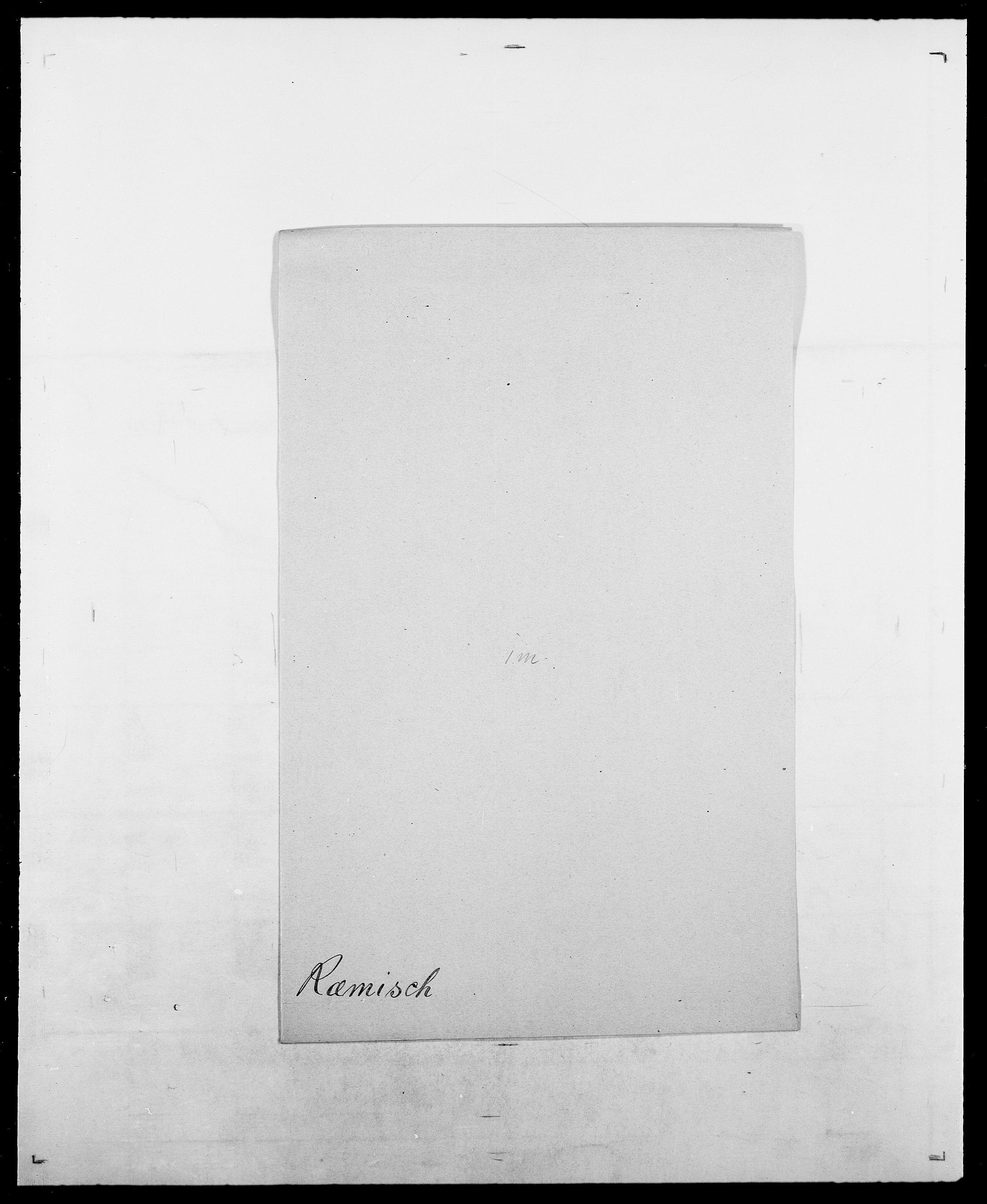 SAO, Delgobe, Charles Antoine - samling, D/Da/L0033: Roald - Røyem, s. 619