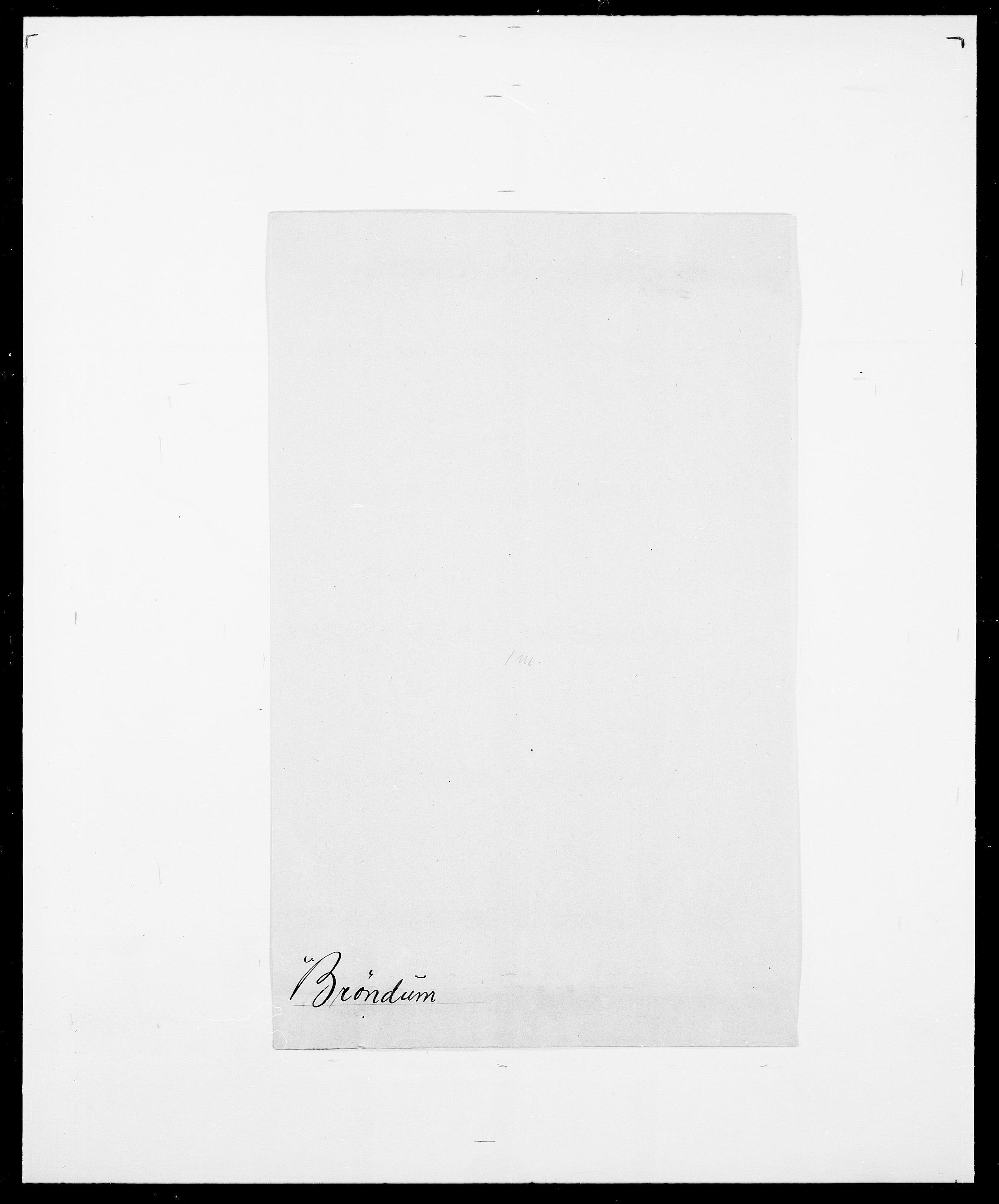 SAO, Delgobe, Charles Antoine - samling, D/Da/L0006: Brambani - Brønø, s. 970