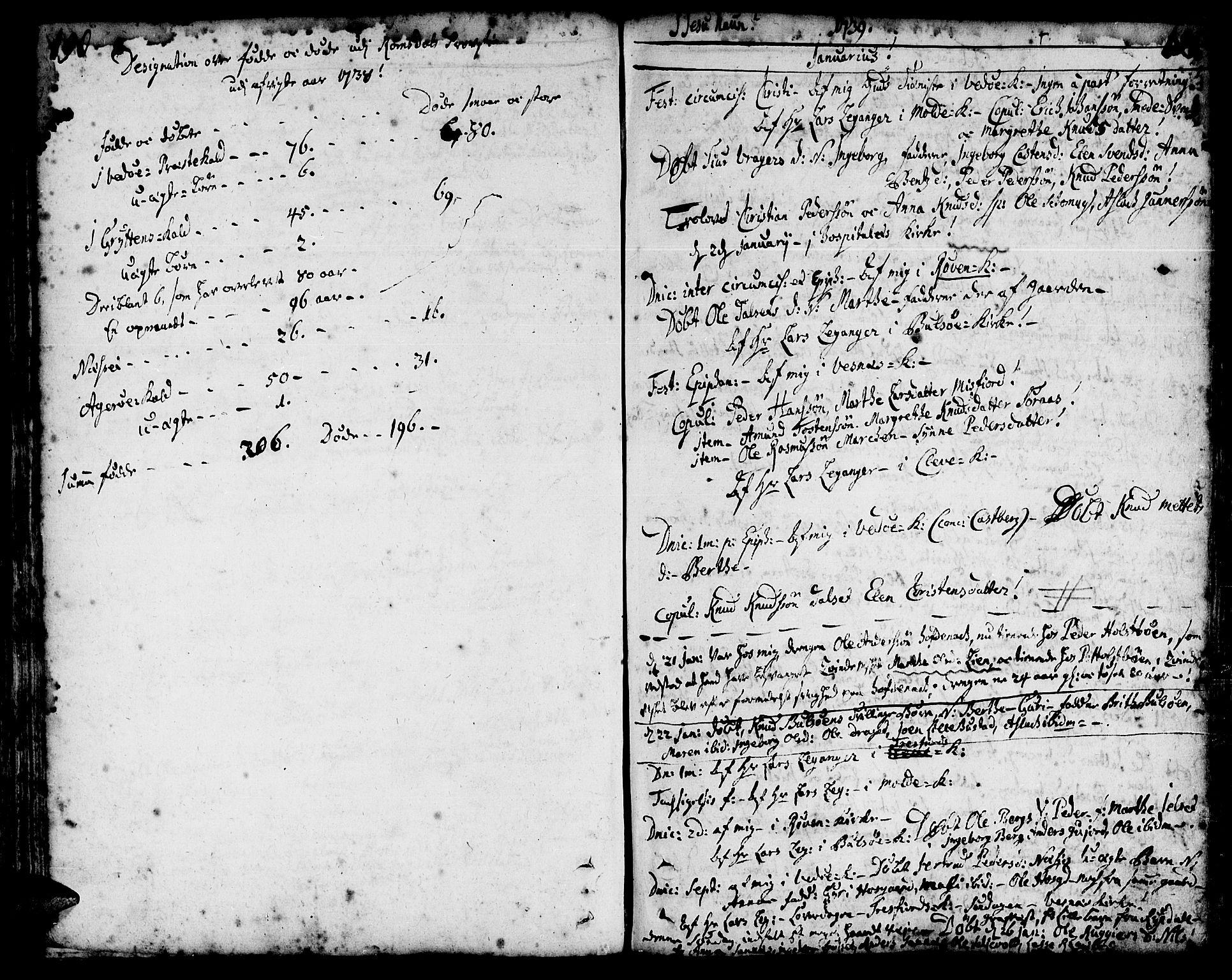 SAT, Ministerialprotokoller, klokkerbøker og fødselsregistre - Møre og Romsdal, 547/L0599: Ministerialbok nr. 547A01, 1721-1764, s. 192-193