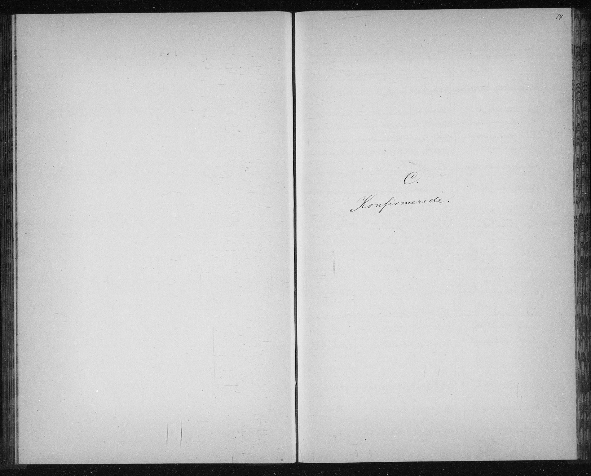 SAKO, Solum kirkebøker, G/Ga/L0006: Klokkerbok nr. I 6, 1882-1883, s. 74