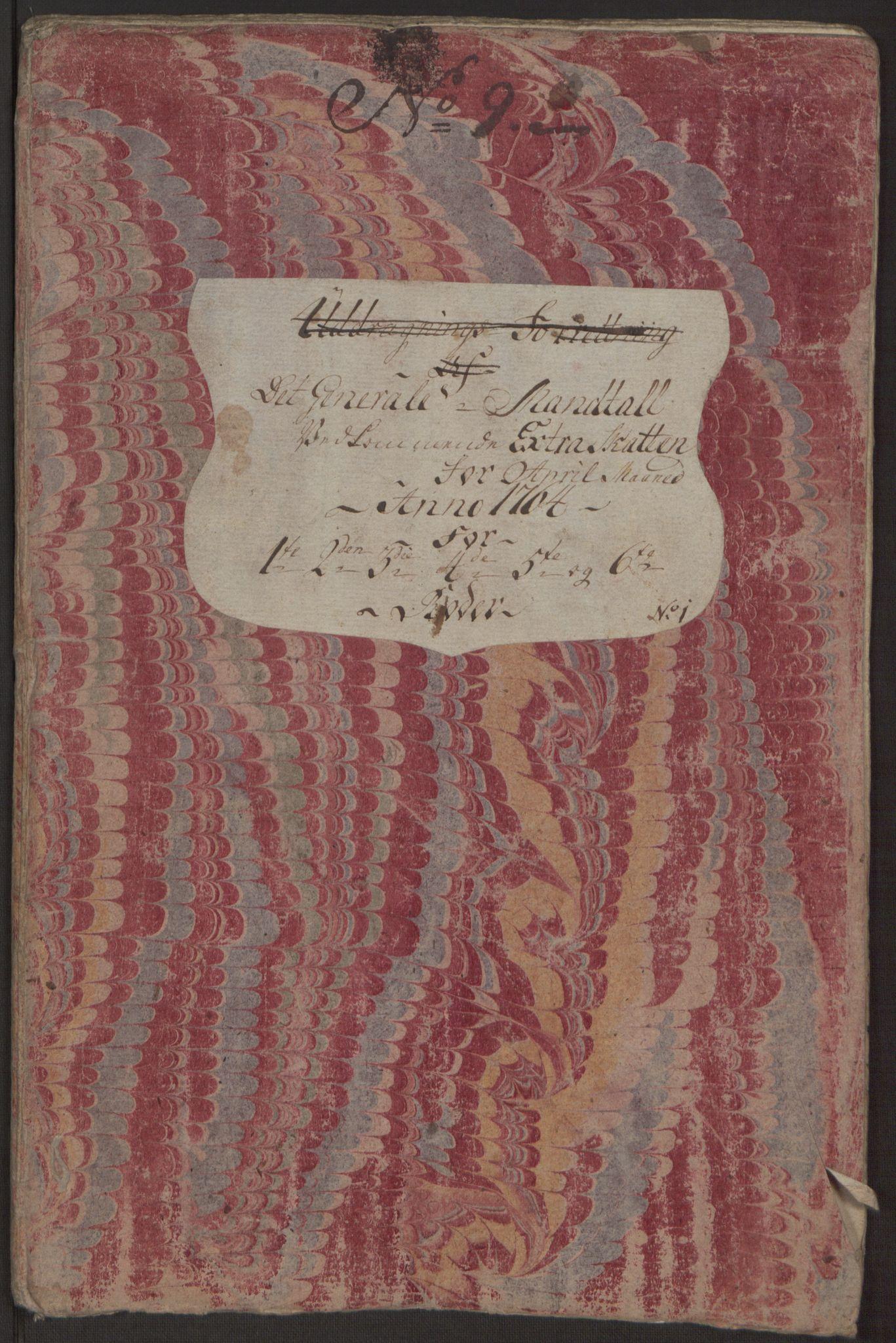 RA, Rentekammeret inntil 1814, Reviderte regnskaper, Byregnskaper, R/Rp/L0367: [P21] Kontribusjonsregnskap, 1764, s. 108
